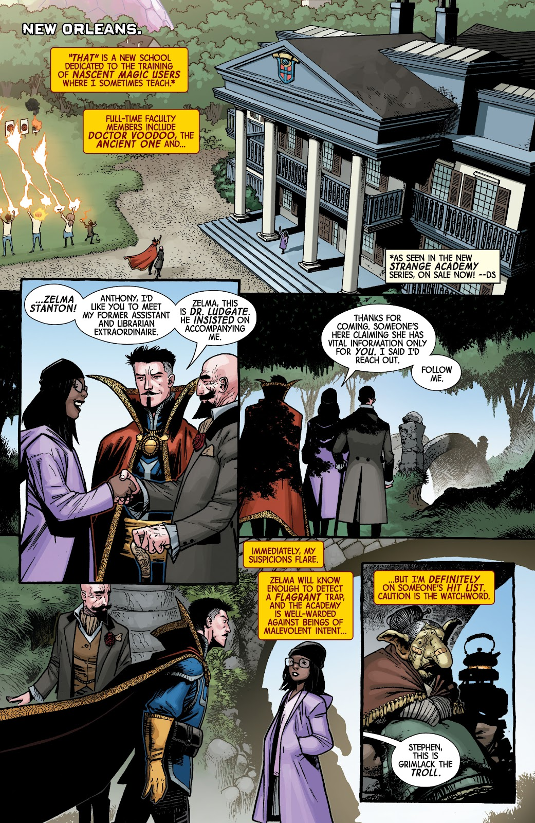 Read online Dr. Strange comic -  Issue #5 - 11