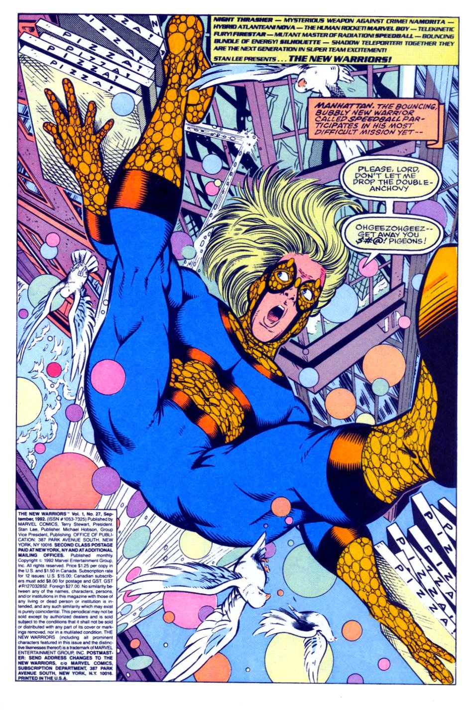 The New Warriors Issue #27 #31 - English 2