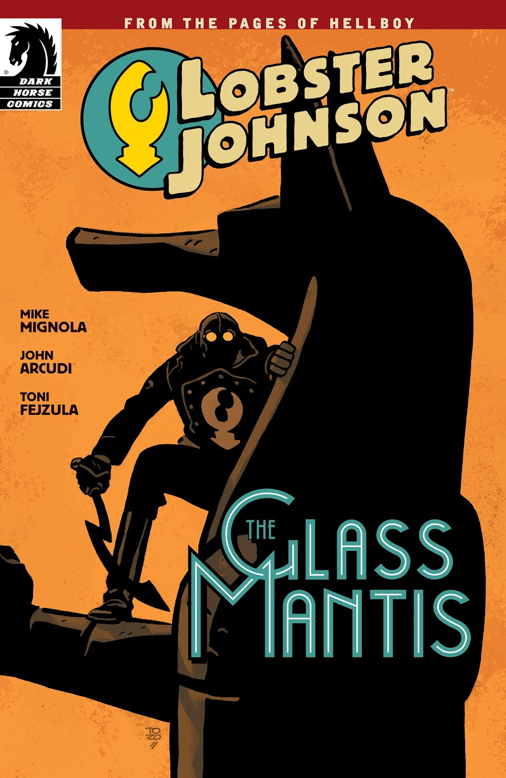 Lobster Johnson: The Glass Mantis issue Full - Page 1