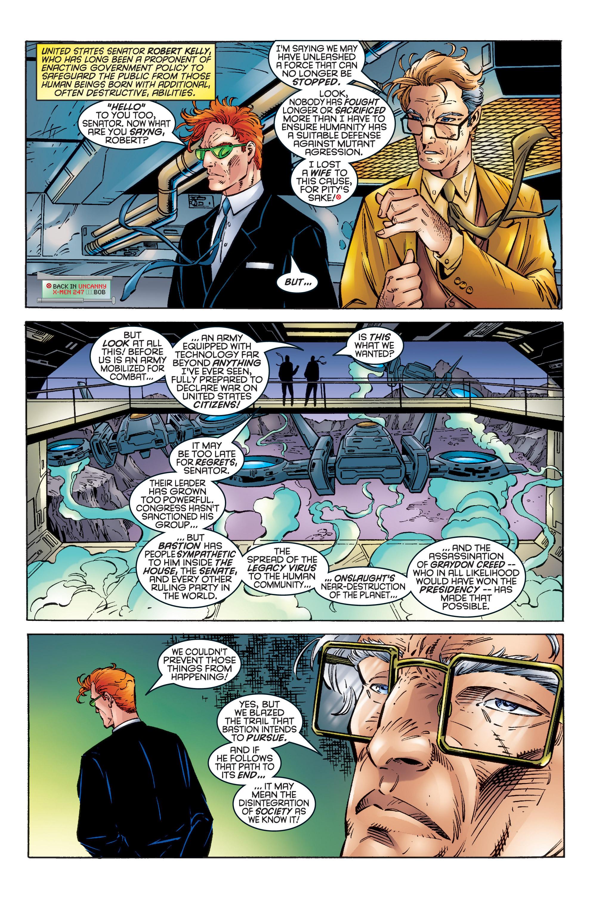 Read online Uncanny X-Men (1963) comic -  Issue #344 - 8
