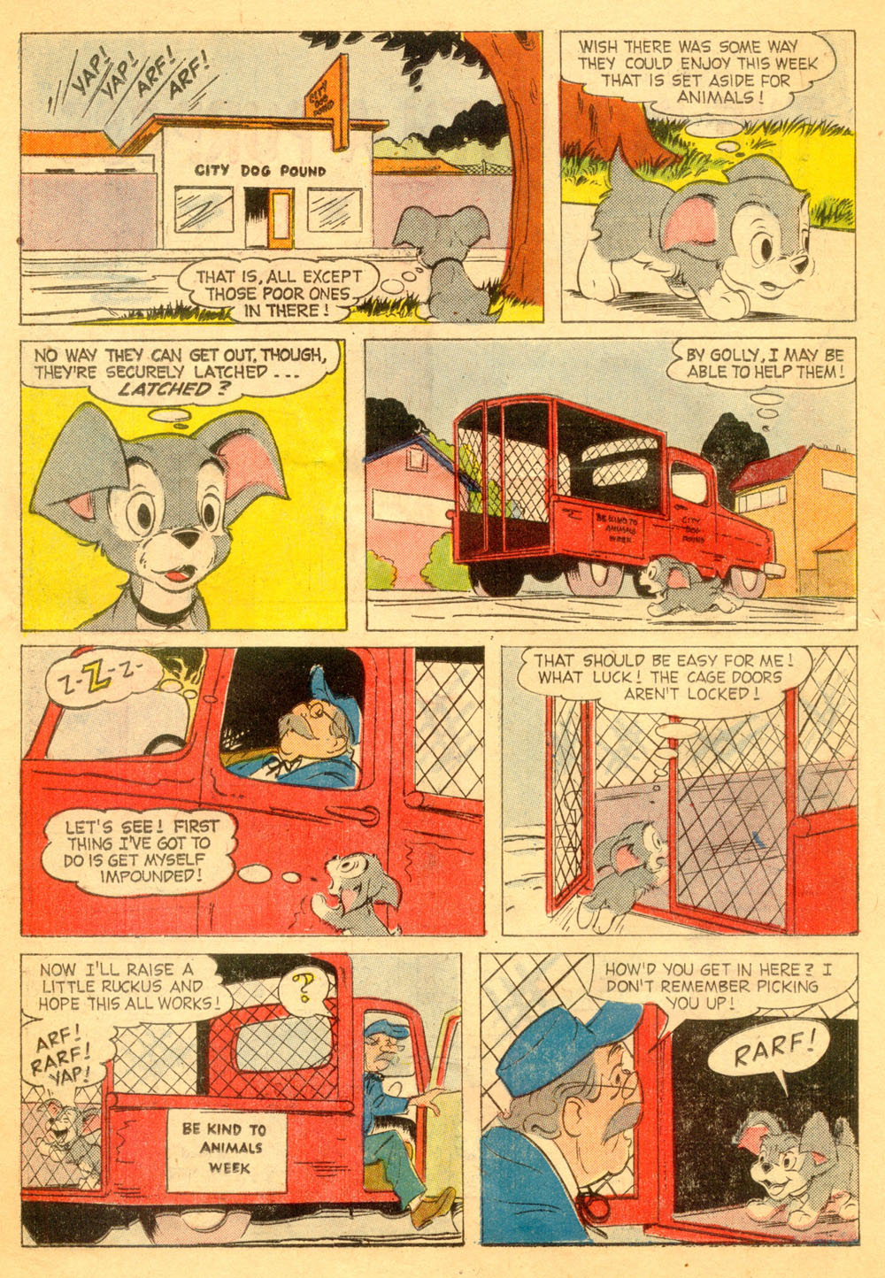 Walt Disney's Comics and Stories issue 239 - Page 14