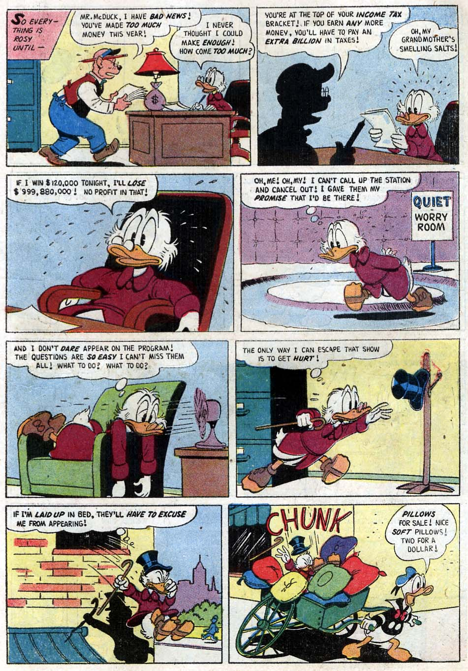 Read online Uncle Scrooge (1953) comic -  Issue #16 - 31
