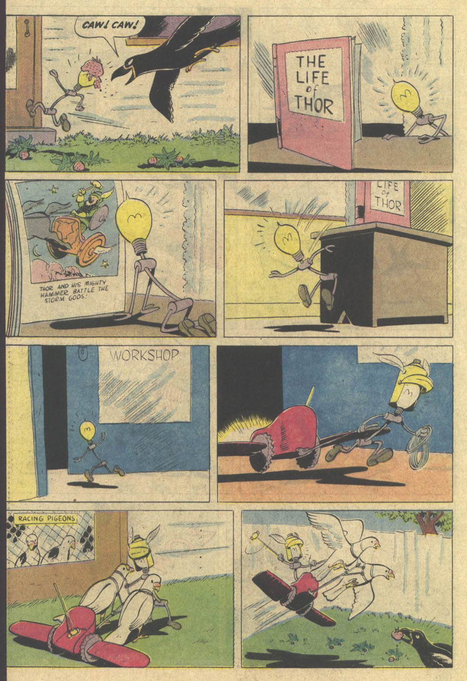 Read online Uncle Scrooge (1953) comic -  Issue #209 - 32