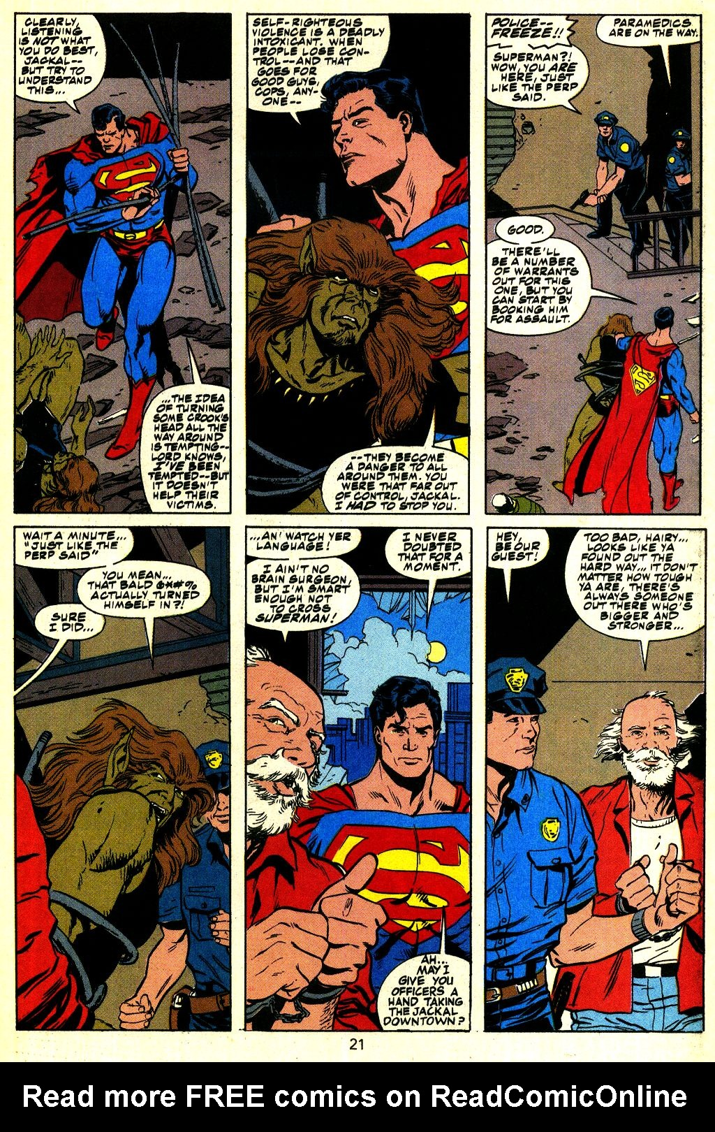Action Comics (1938) 683 Page 21