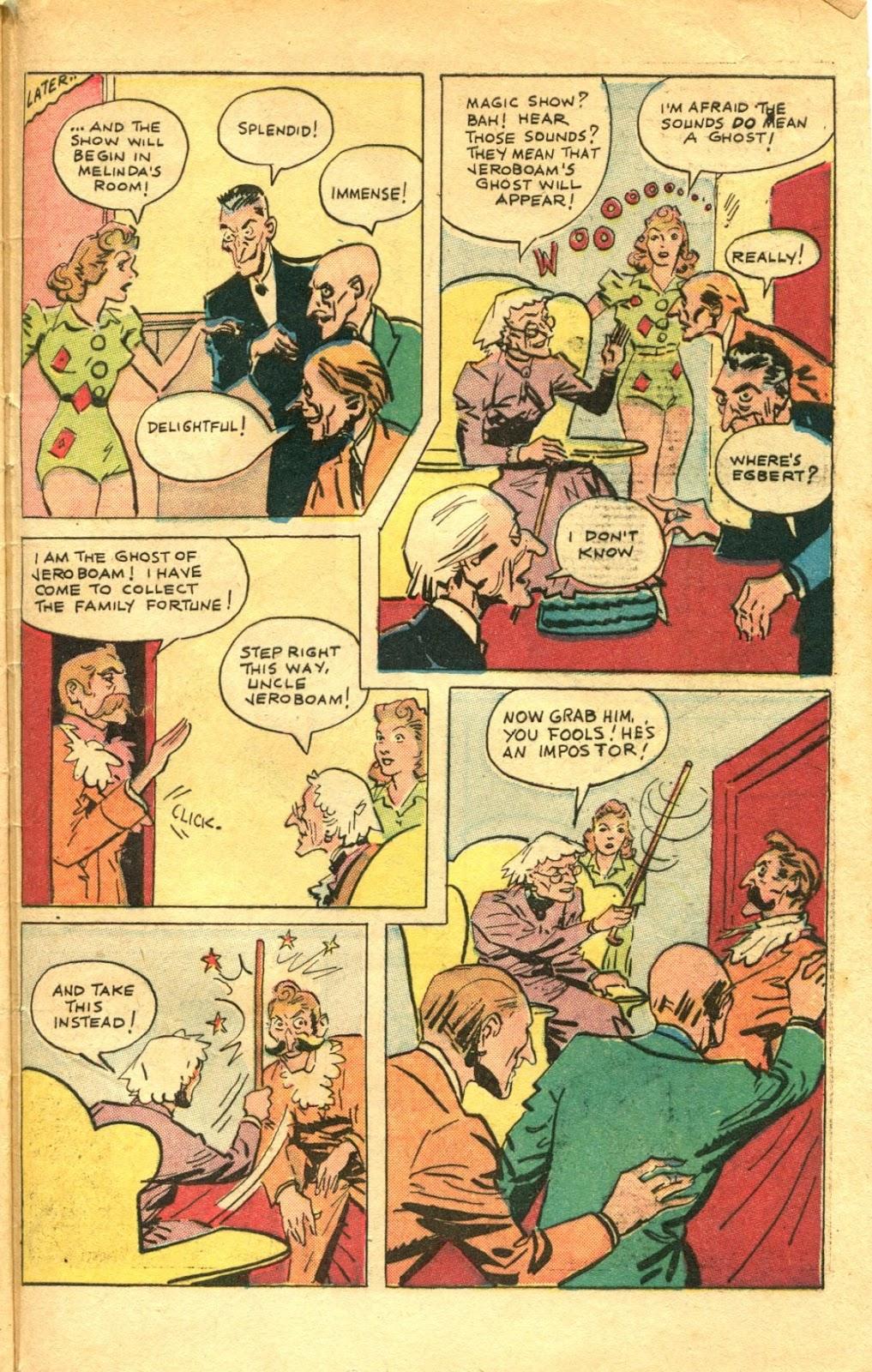 Read online Super-Magician Comics comic -  Issue #48 - 49