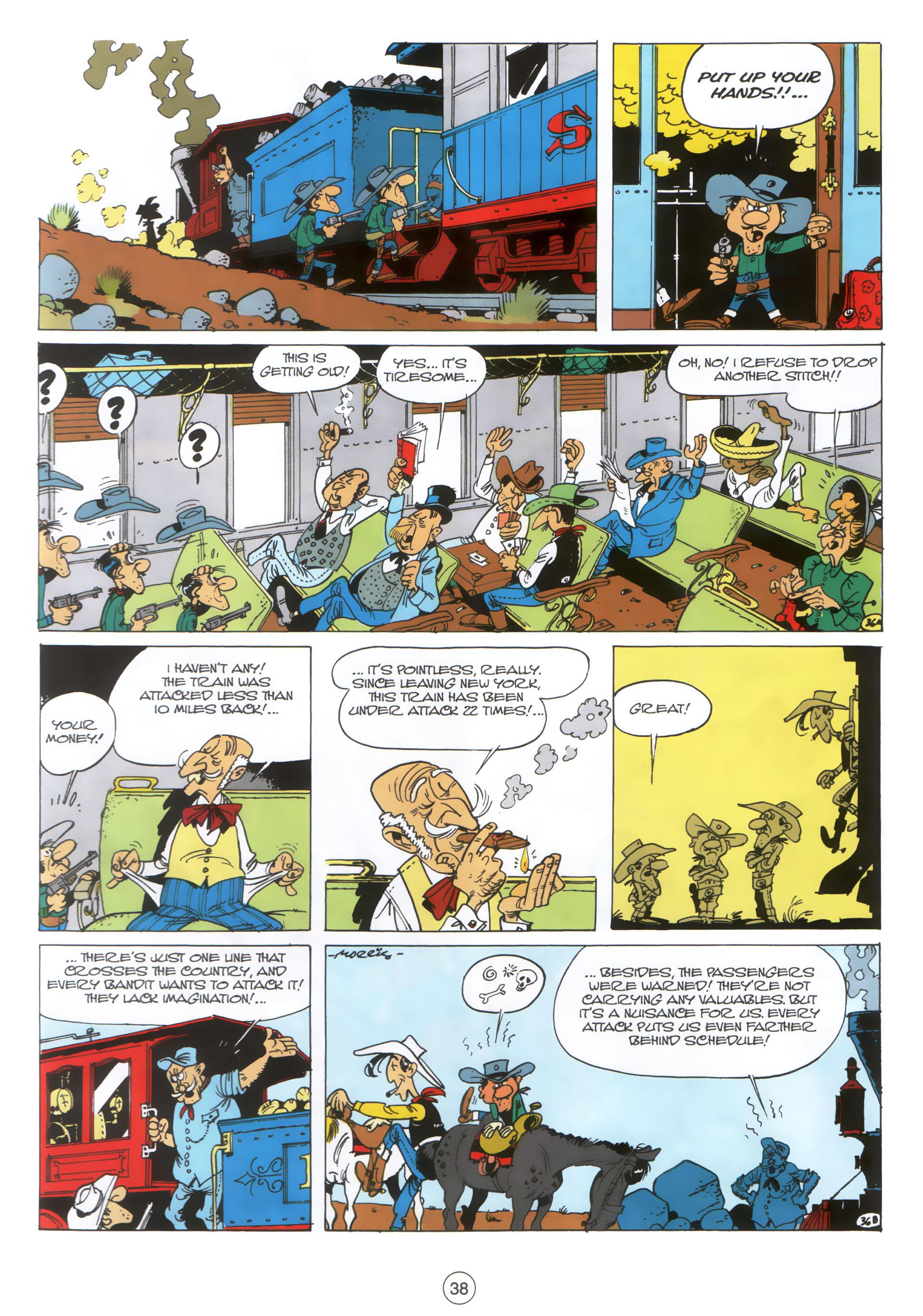 Read online A Lucky Luke Adventure comic -  Issue #30 - 37