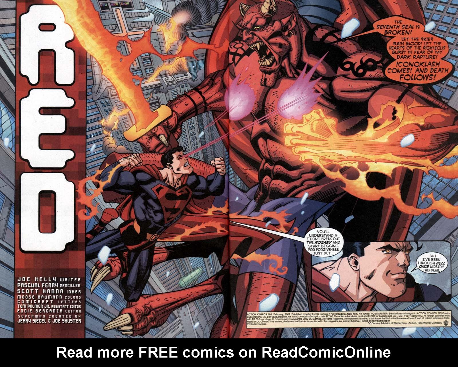 Action Comics (1938) 786 Page 2