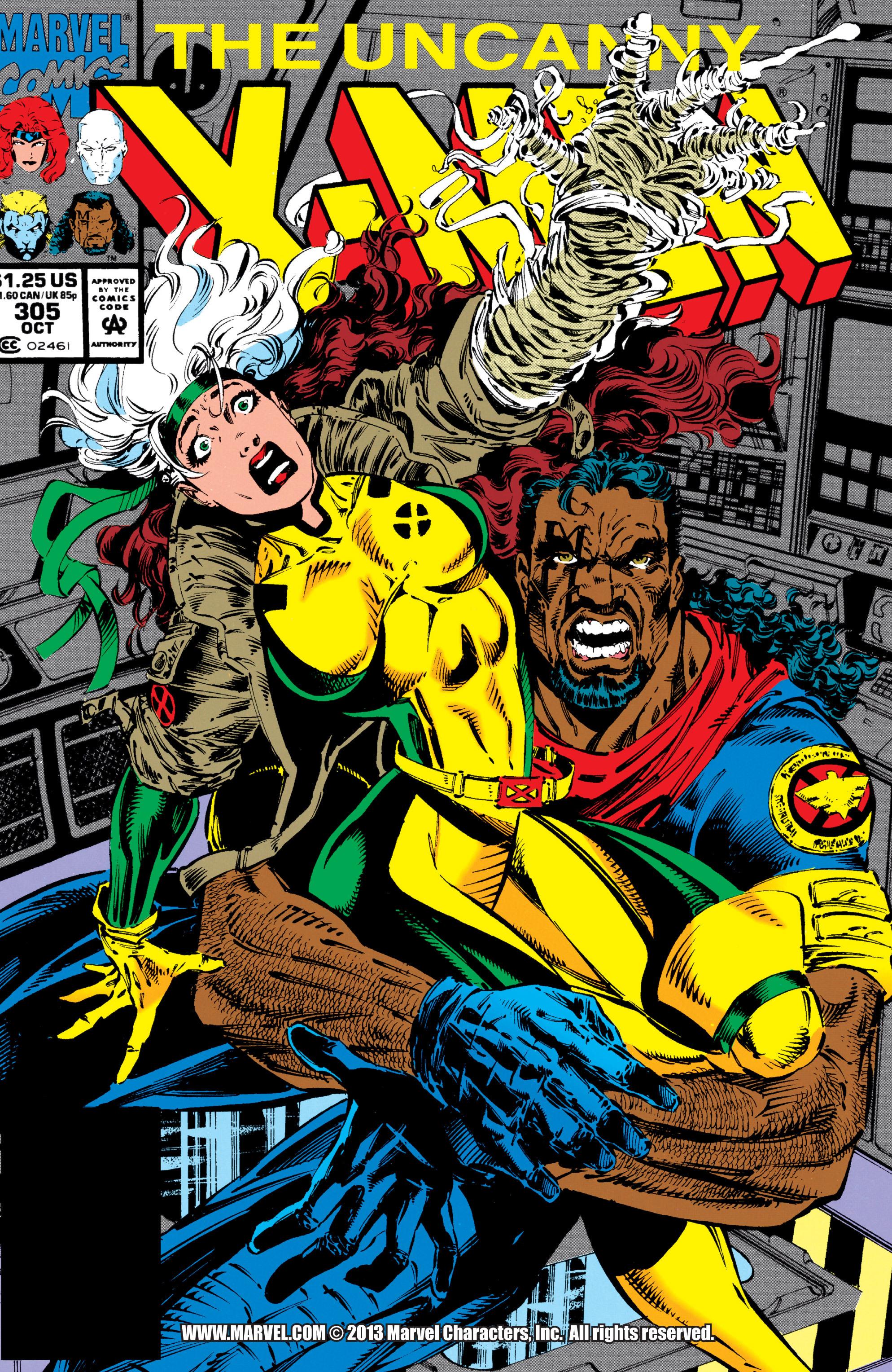 Read online Uncanny X-Men (1963) comic -  Issue #305 - 1