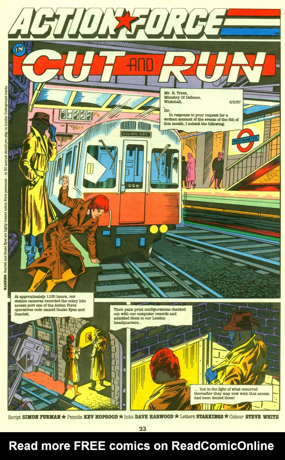 G.I. Joe European Missions issue 9 - Page 24