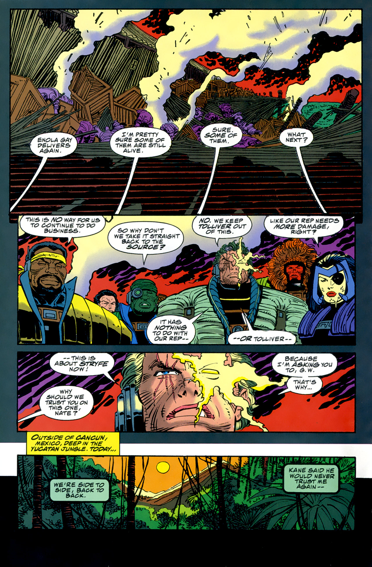 Read online Cable - Blood and Metal comic -  Issue #2 - 21