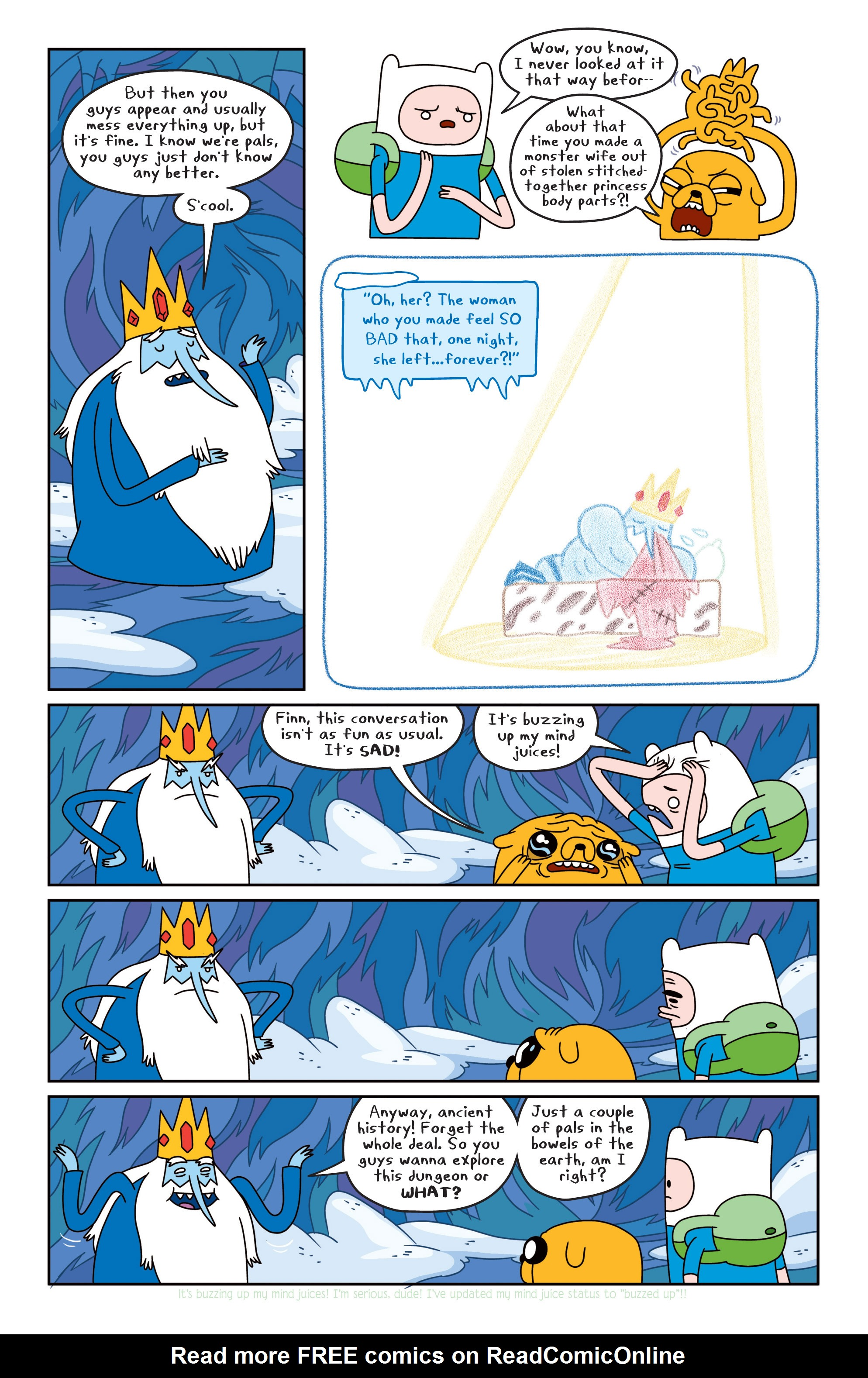 Read online Adventure Time comic -  Issue #16 - 11