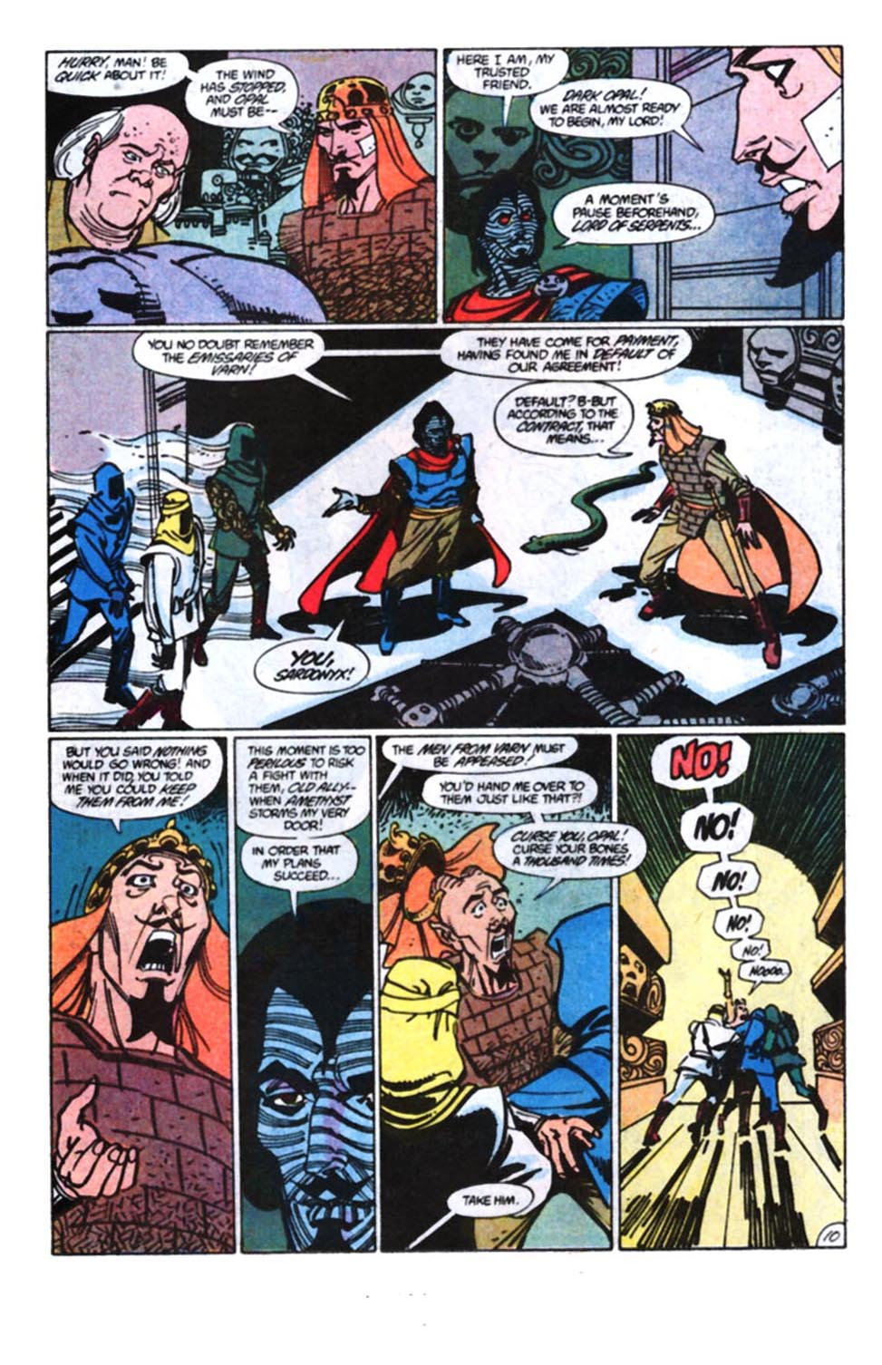 Read online Amethyst, Princess of Gemworld comic -  Issue #11 - 11