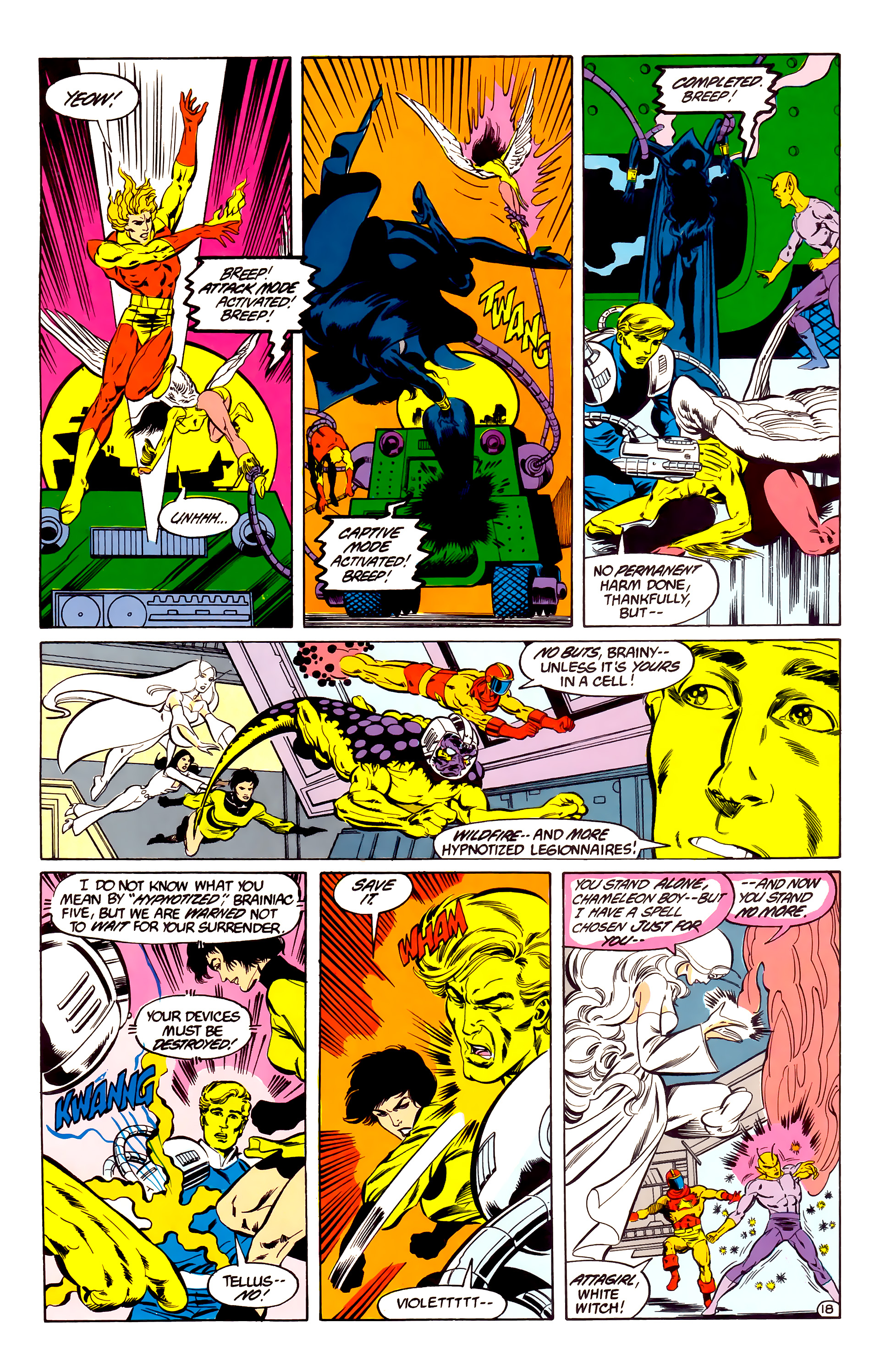 Legion of Super-Heroes (1984) 35 Page 17