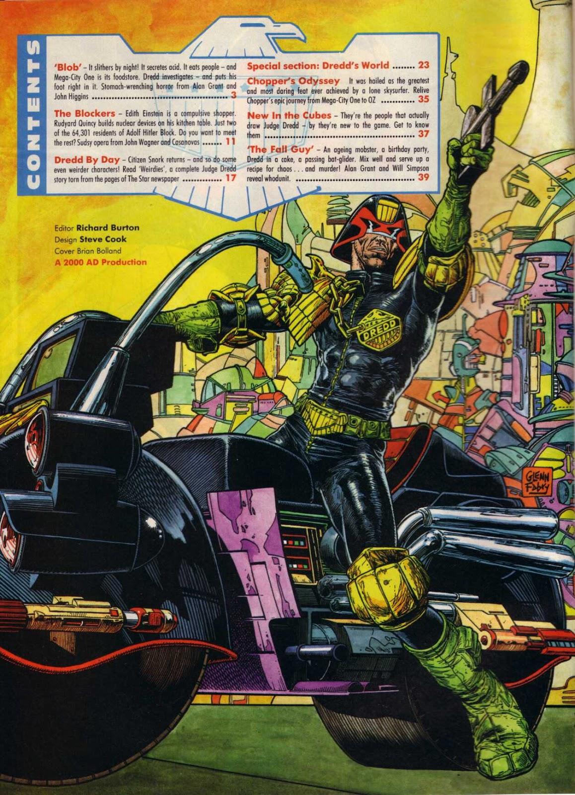Judge Dredd Mega-Special 1 Page 2