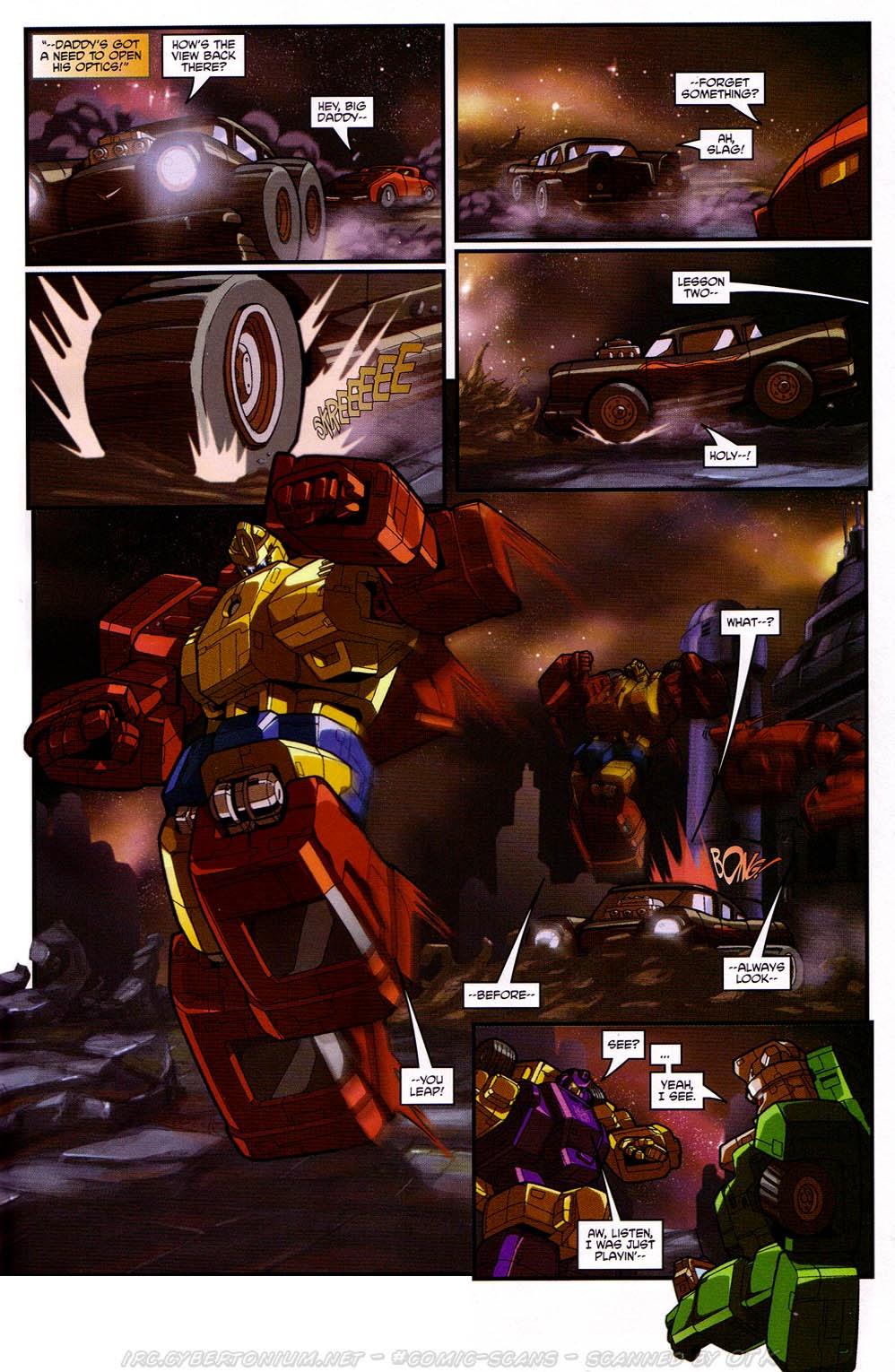 Read online Transformers: Micromasters comic -  Issue #2 - 21