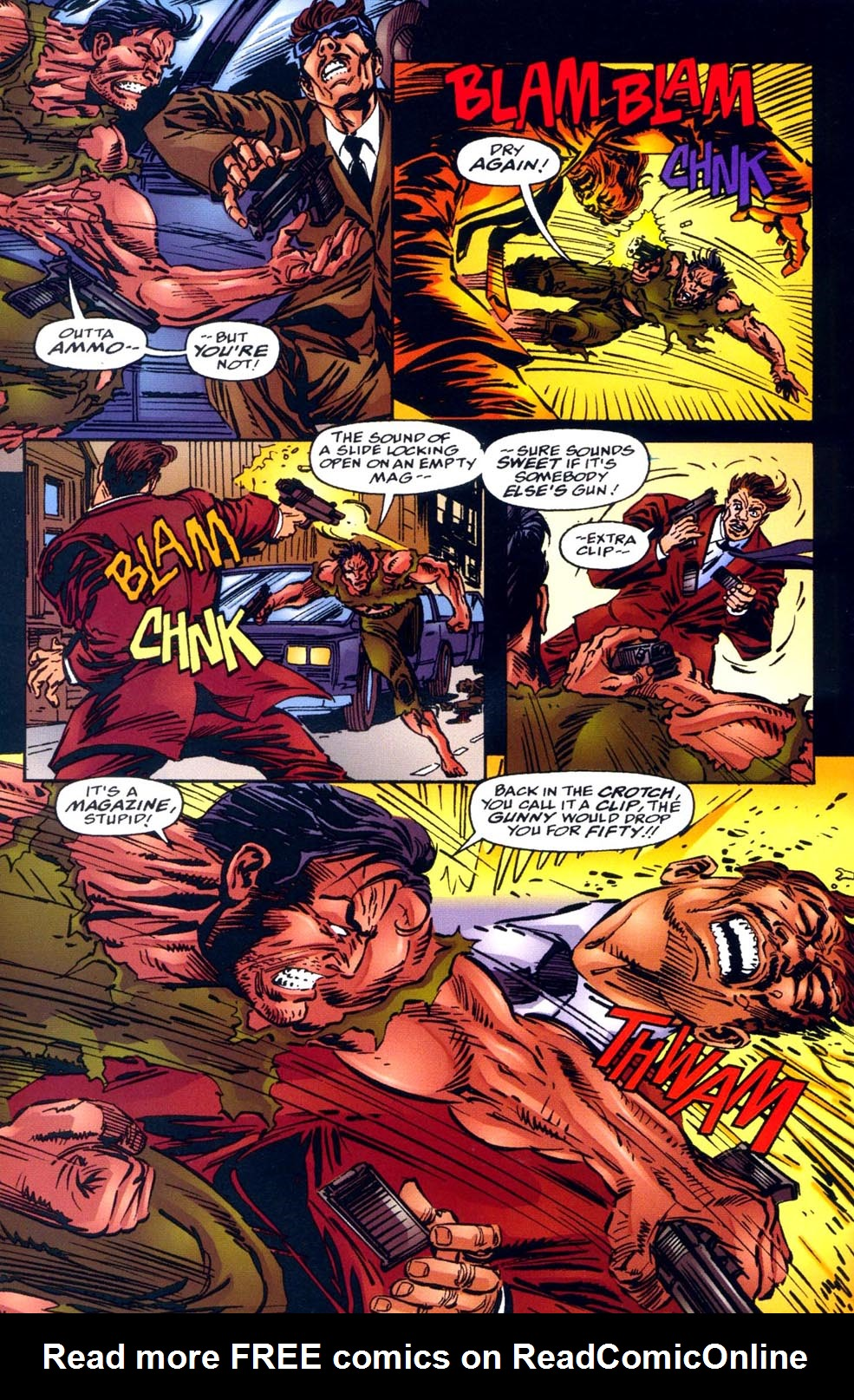 Read online Double Edge comic -  Issue # Issue Alpha - 32