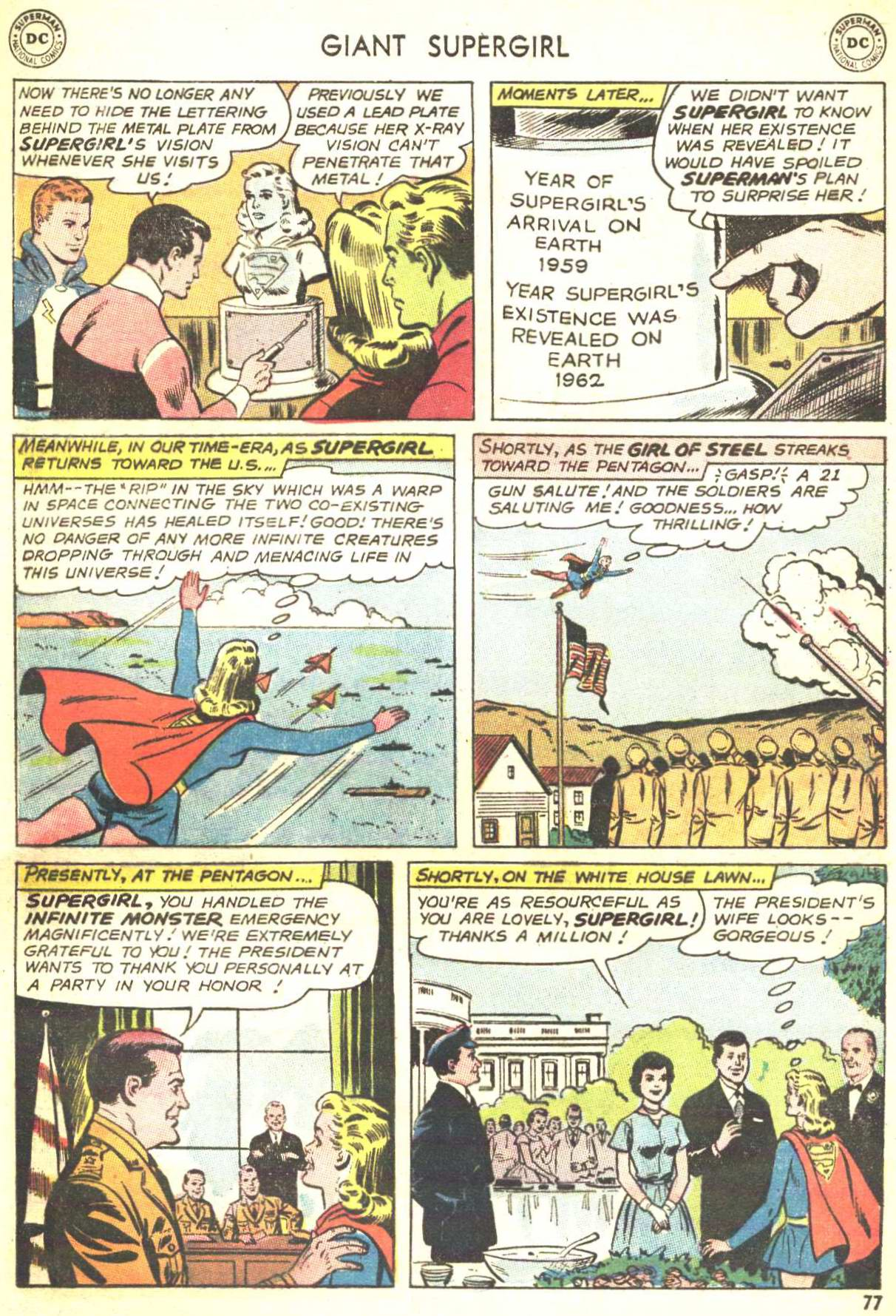 Read online Action Comics (1938) comic -  Issue #360 - 76