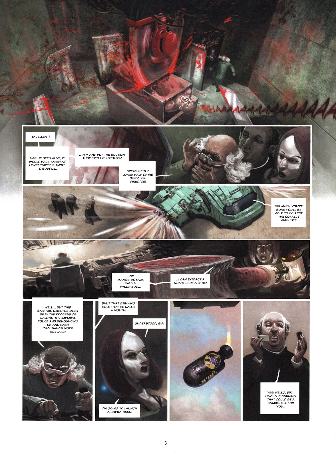 Showman Killer issue 1 - Page 5
