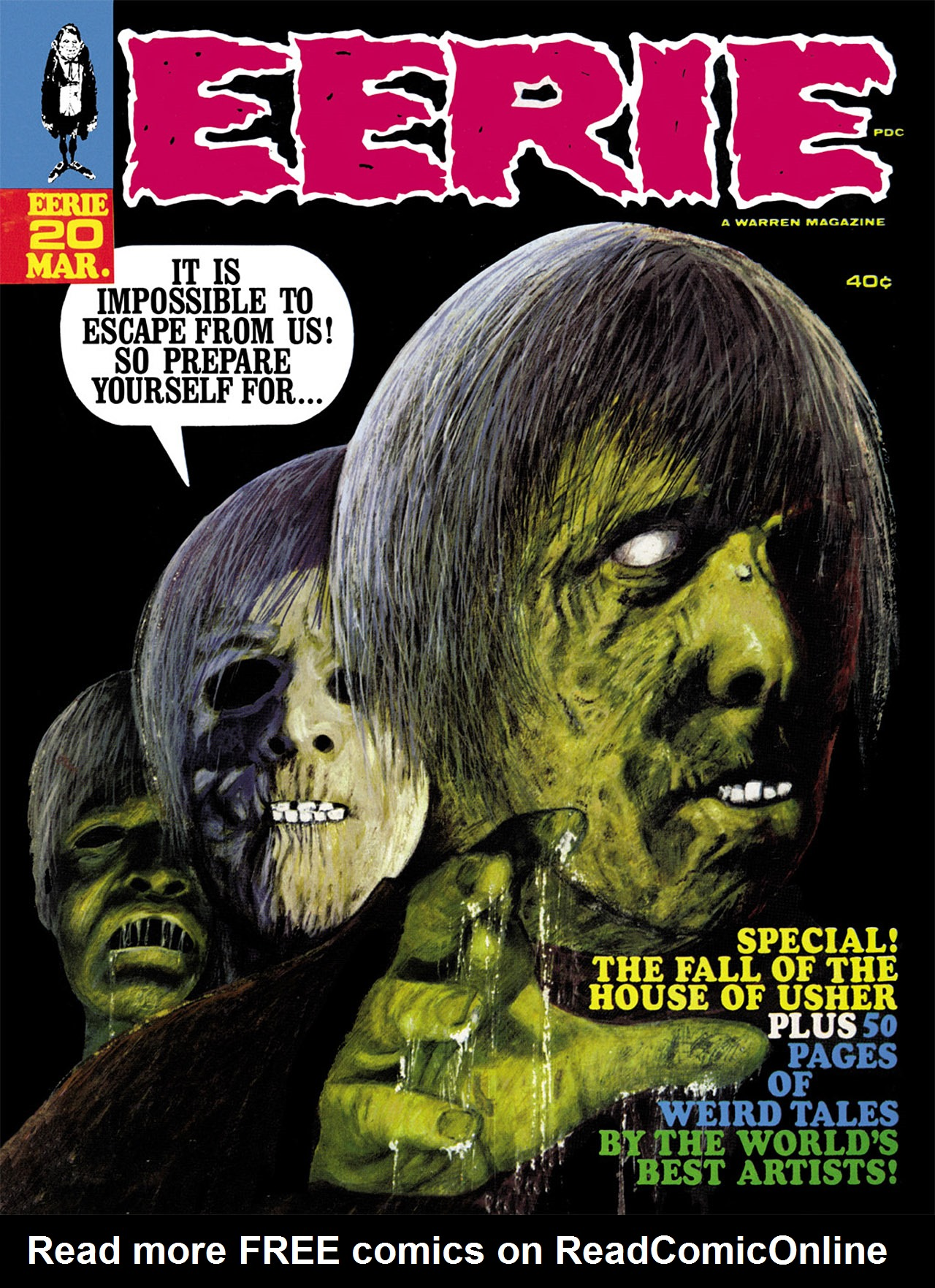 Read online Eerie Archives comic -  Issue # TPB 4 - 156