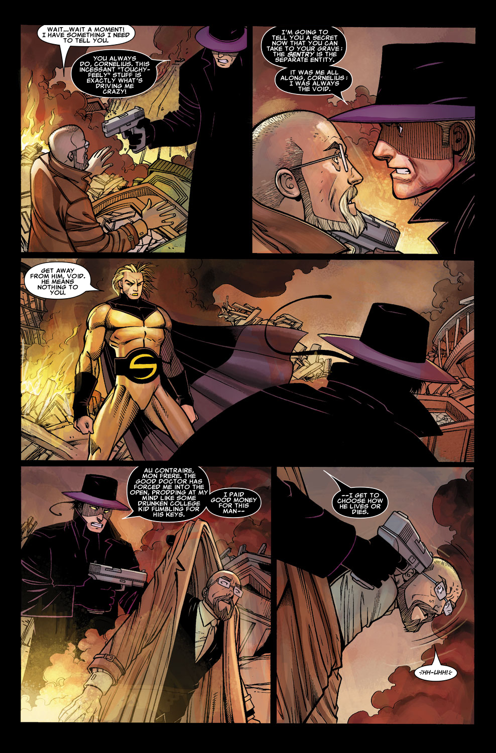 Read online Sentry (2006) comic -  Issue #5 - 23