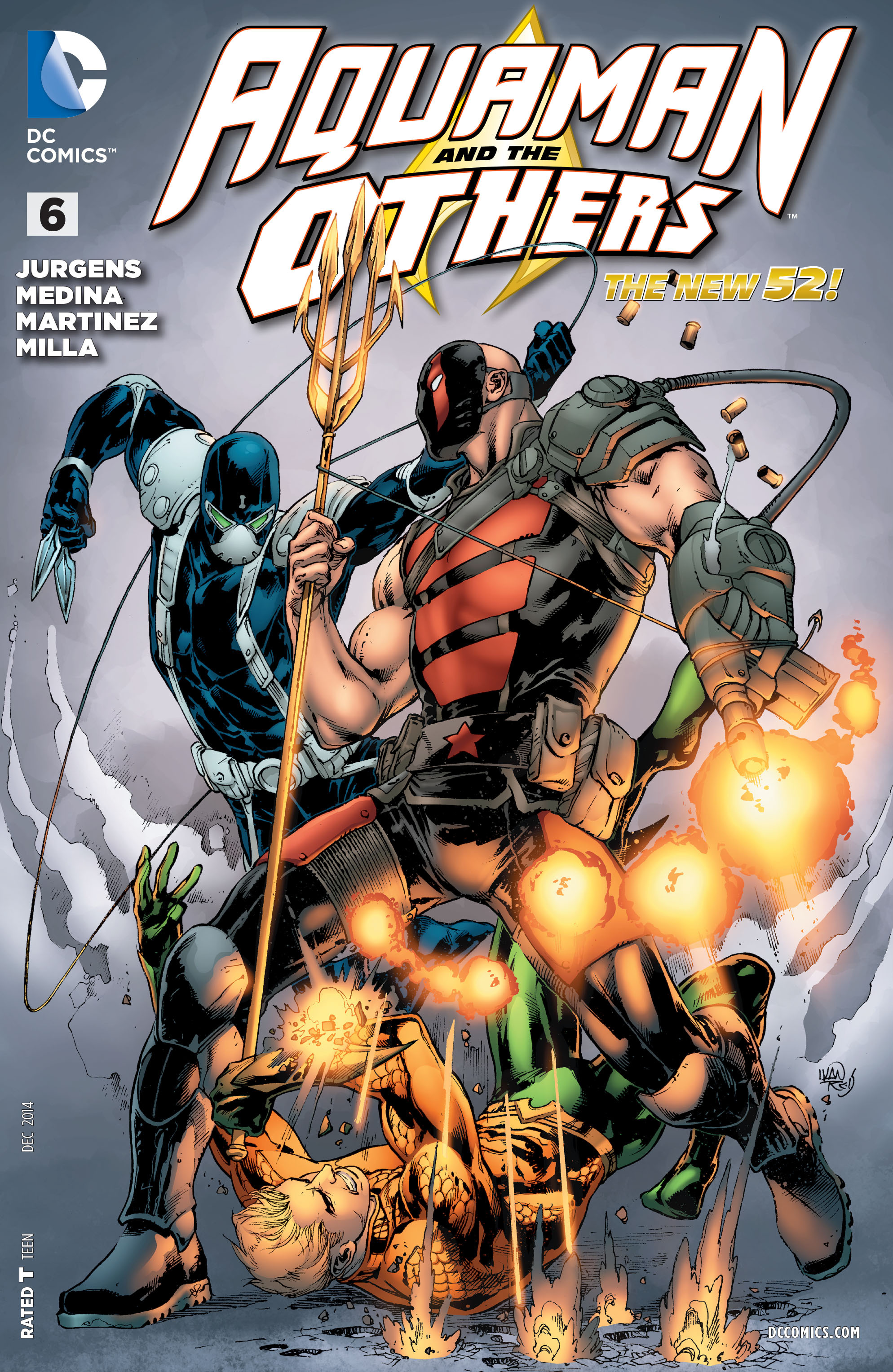 Read online Aquaman and the Others comic -  Issue #6 - 1