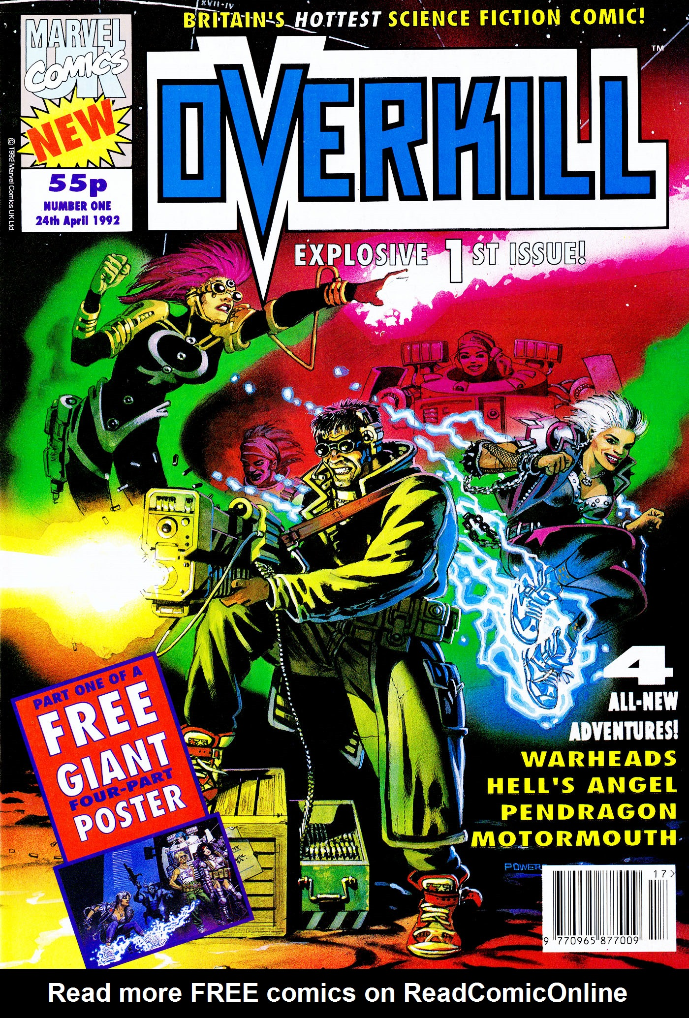 Read online Overkill comic -  Issue #1 - 1
