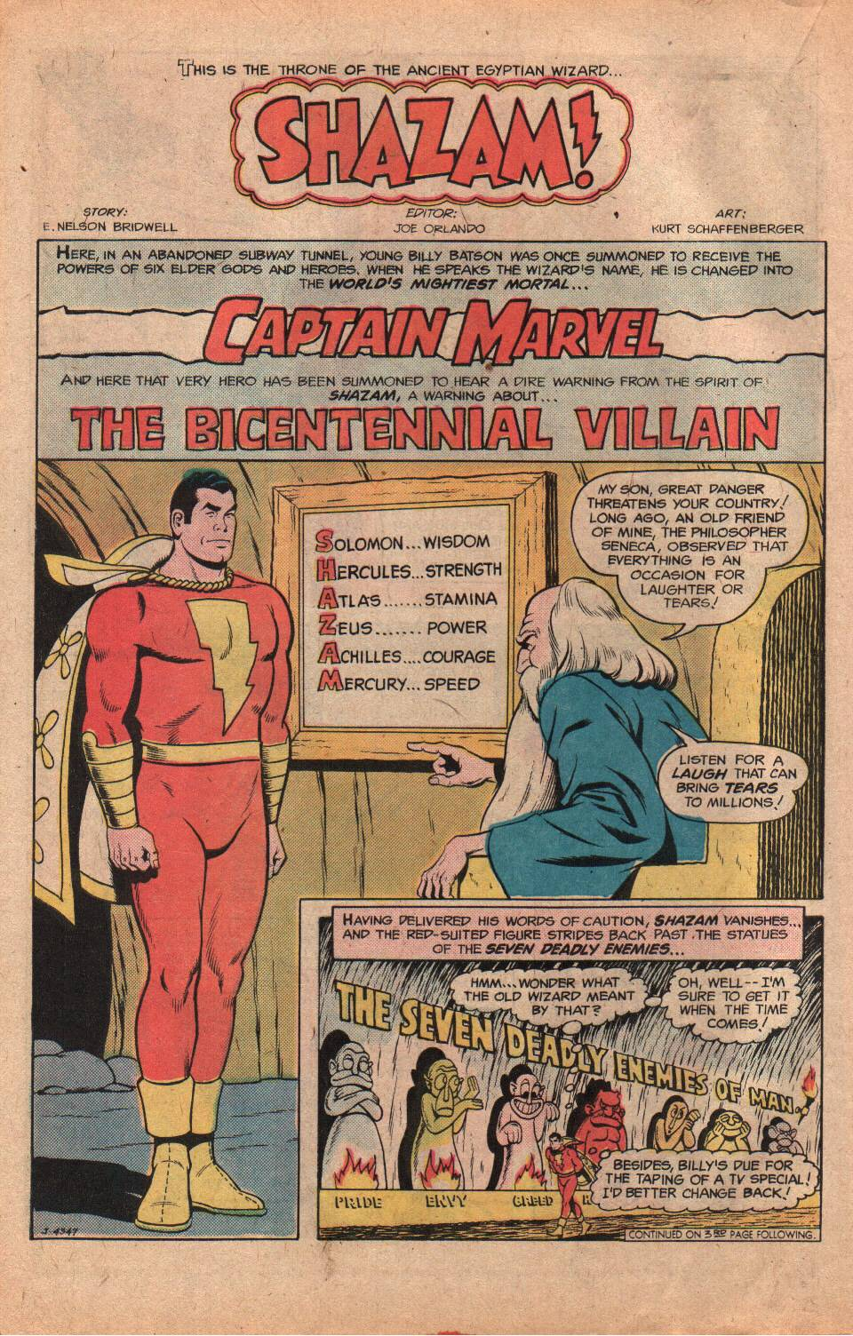 Read online Shazam! (1973) comic -  Issue #25 - 22