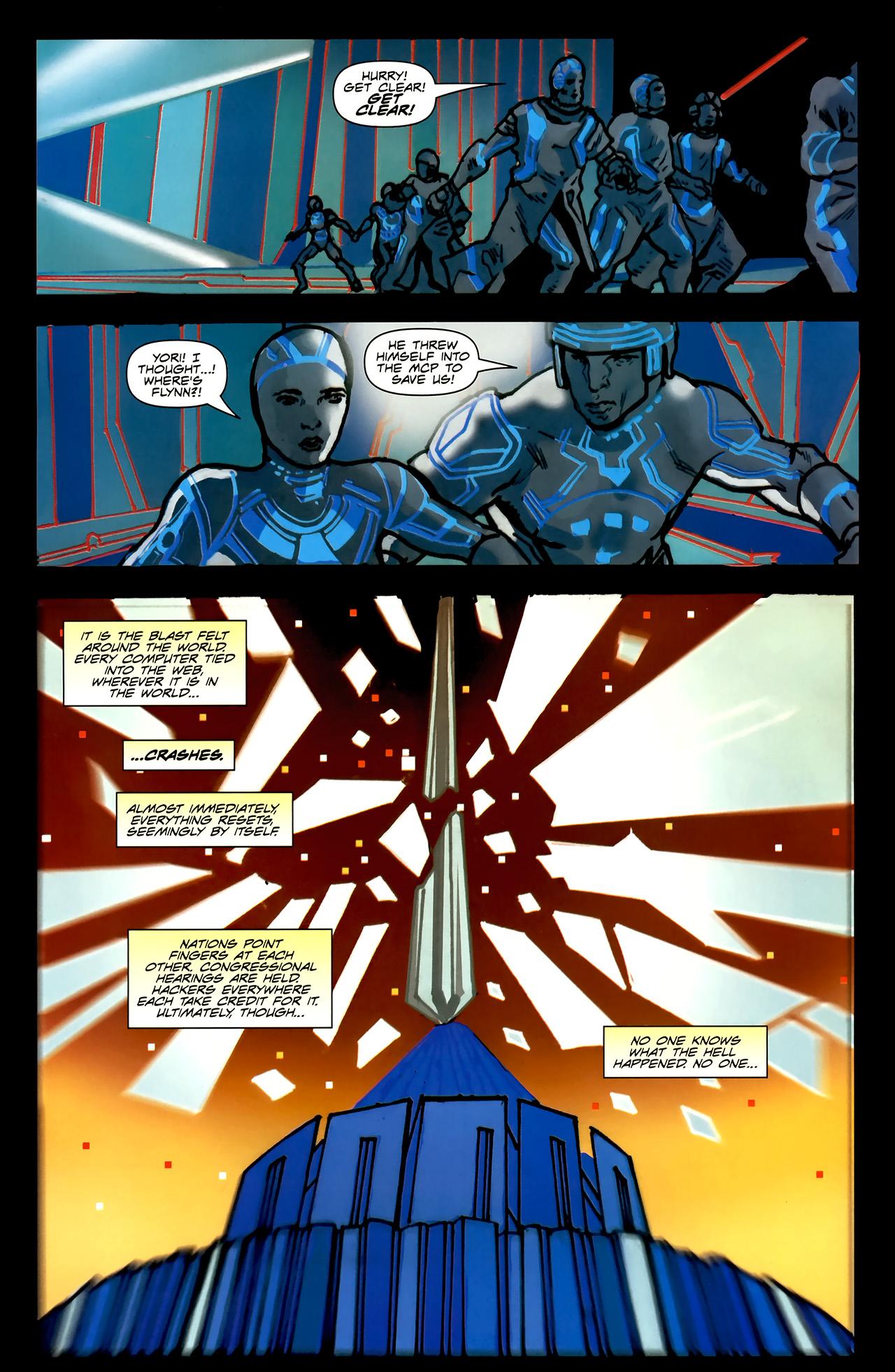 Read online TRON: Original Movie Adaptation comic -  Issue #2 - 33