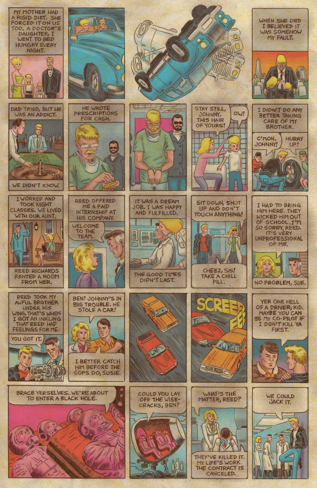 Read online Fantastic Four: Grand Design comic -  Issue #1 - 14