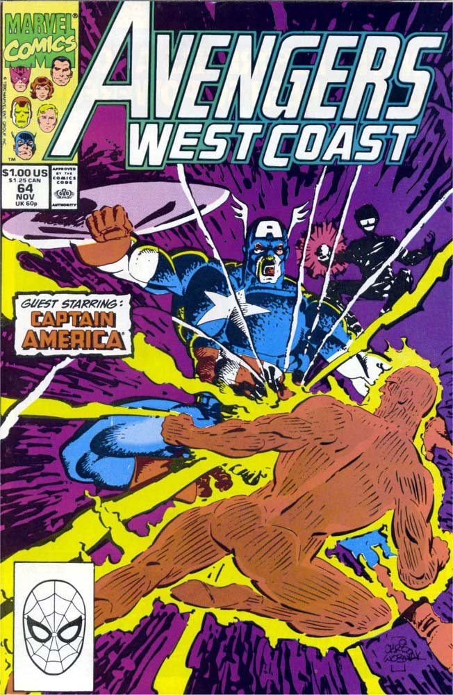 Avengers West Coast (1989) 64 Page 1