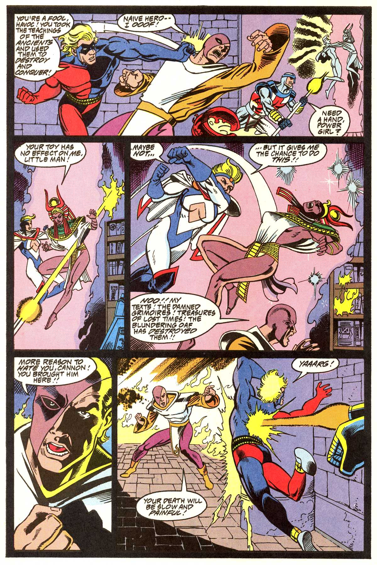 Read online Peter Cannon--Thunderbolt (1992) comic -  Issue #11 - 7