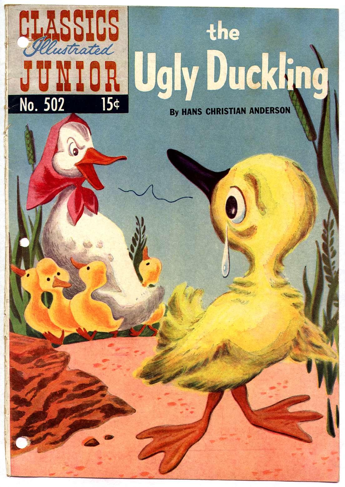 Classics Illustrated Junior 502 Page 1