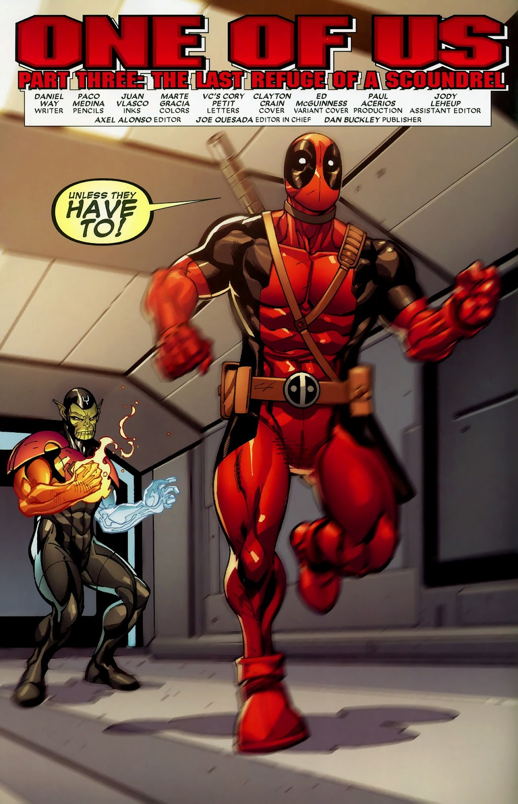 Read online Deadpool (2008) comic -  Issue #3 - 5