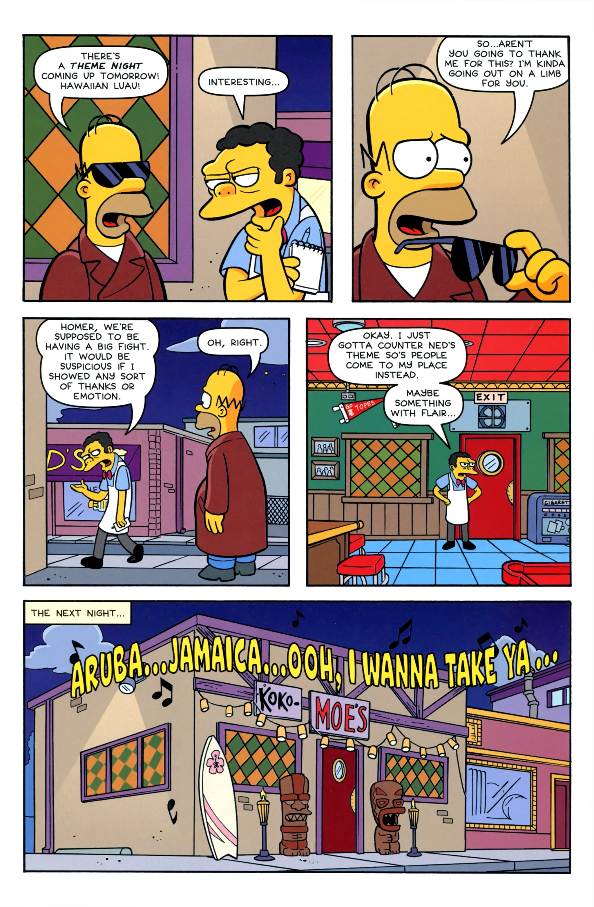 Read online Simpsons Comics comic -  Issue #220 - 17