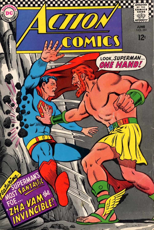 Action Comics (1938) 351 Page 1