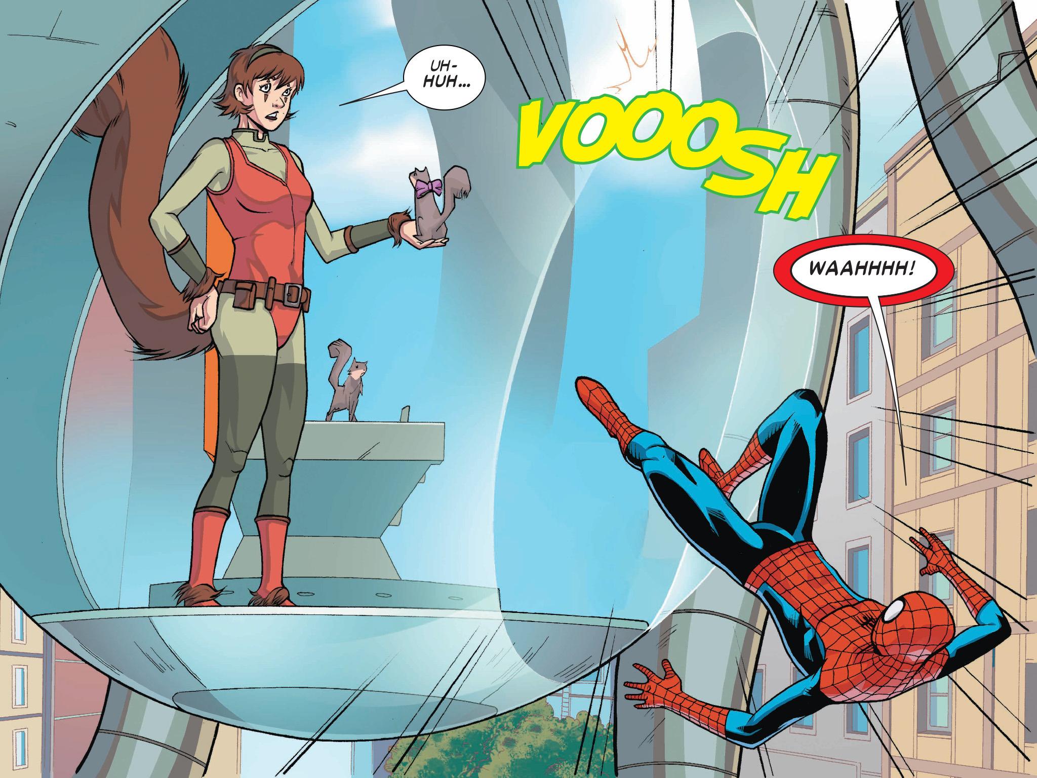 Read online Ultimate Spider-Man (Infinite Comics) (2016) comic -  Issue #1 - 47