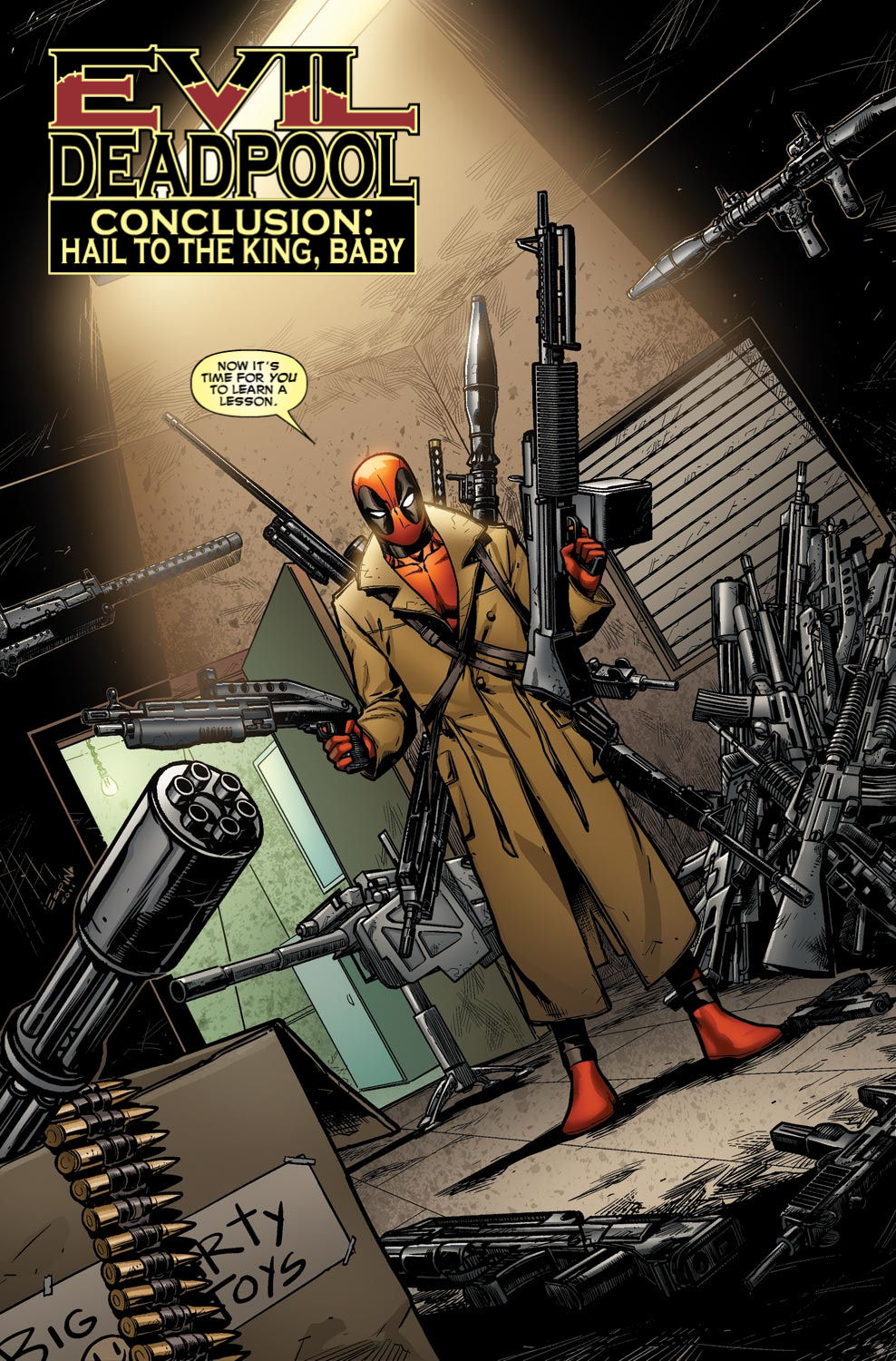 Read online Deadpool (2008) comic -  Issue #49 - 4