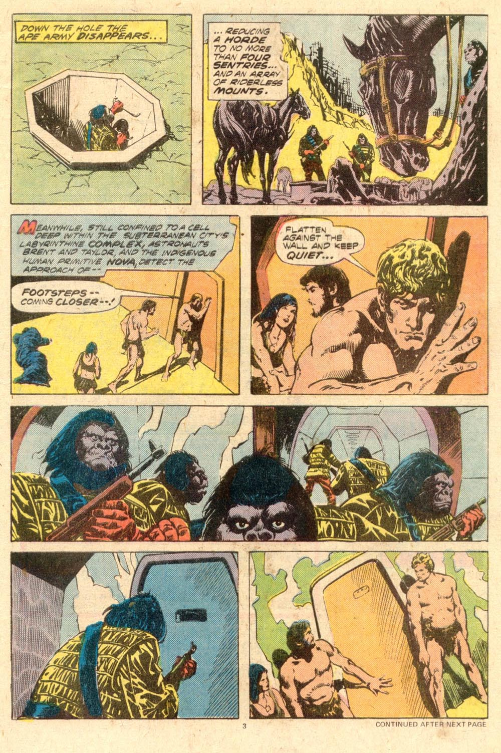 Read online Adventures on the Planet of the Apes comic -  Issue #11 - 4