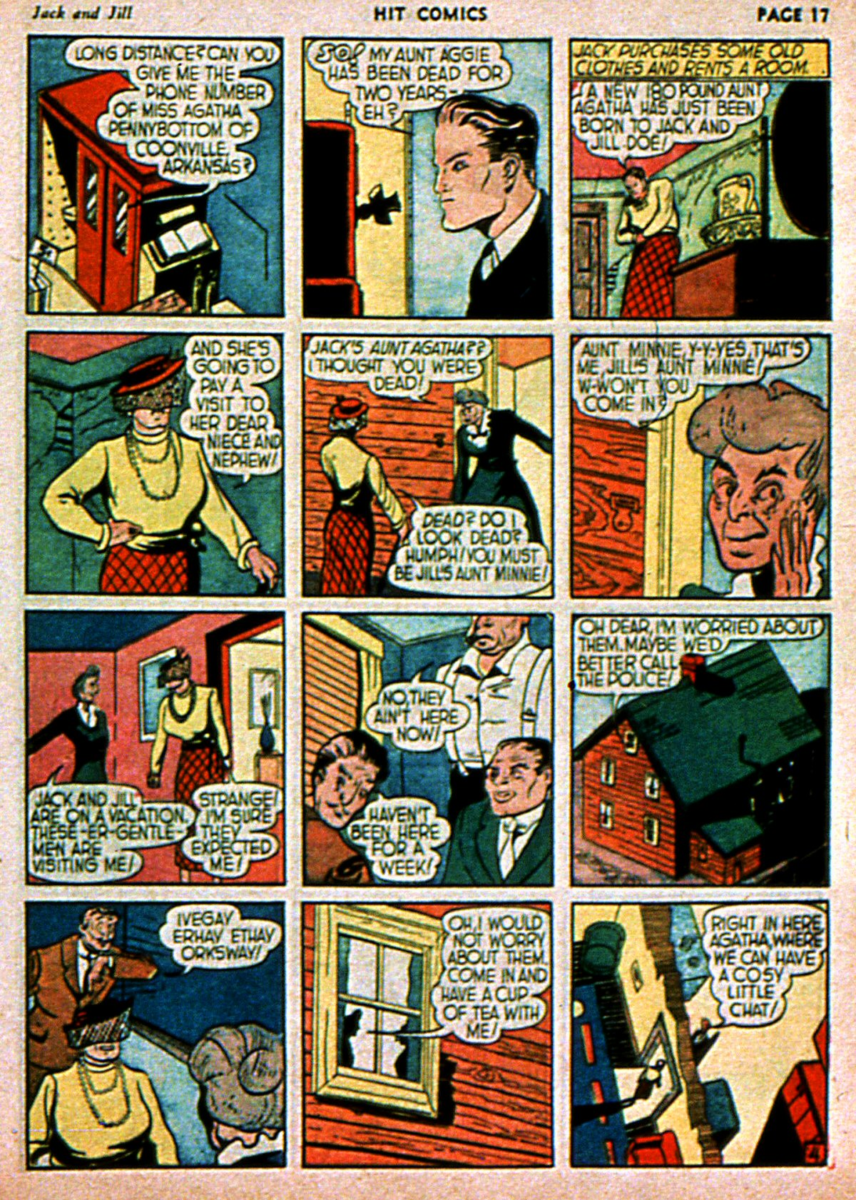 Read online Hit Comics comic -  Issue #3 - 19