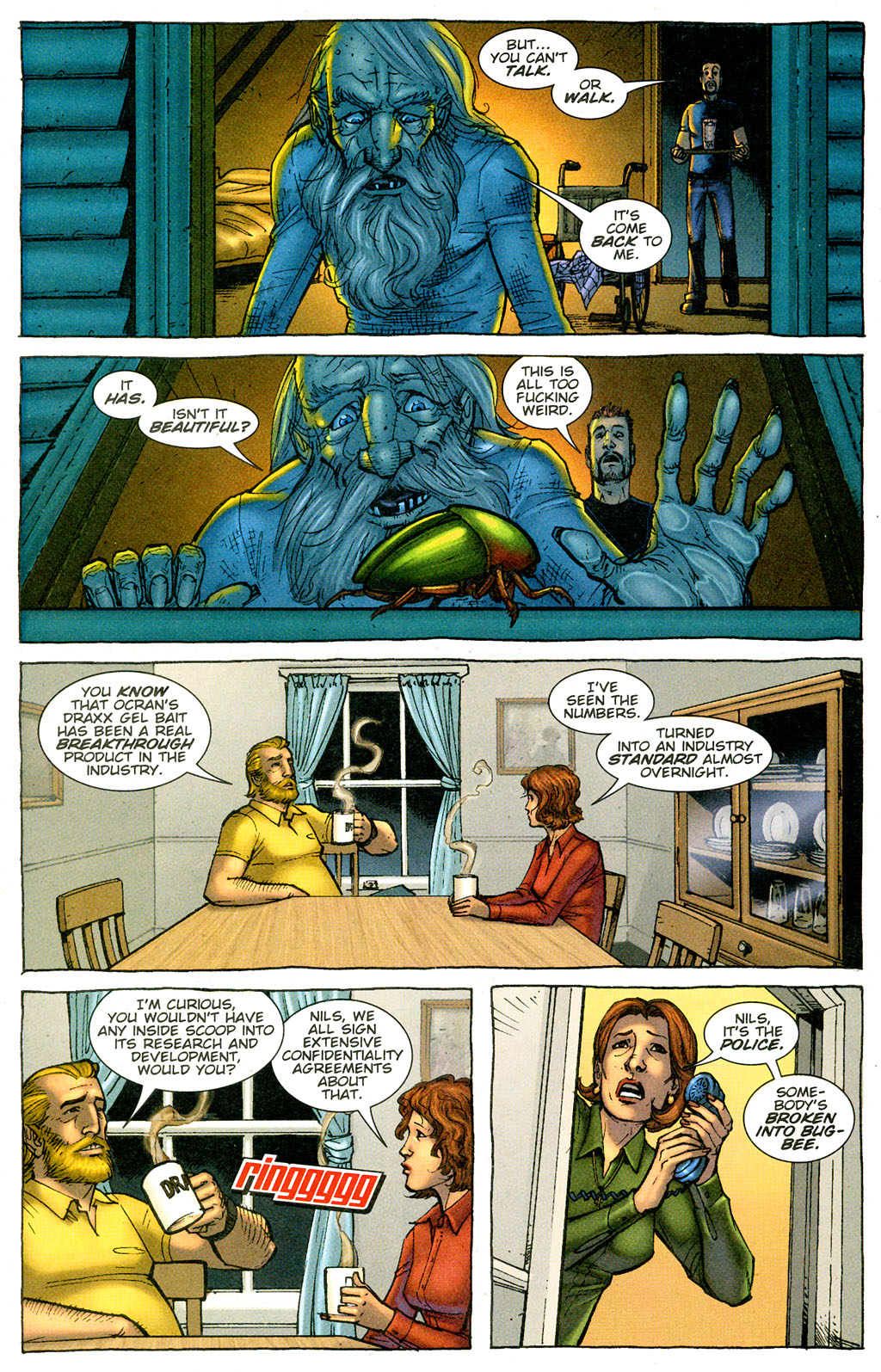Read online The Exterminators comic -  Issue #3 - 21