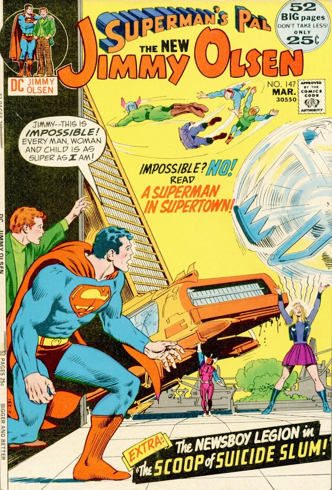 Supermans Pal Jimmy Olsen (1954) 147 Page 1