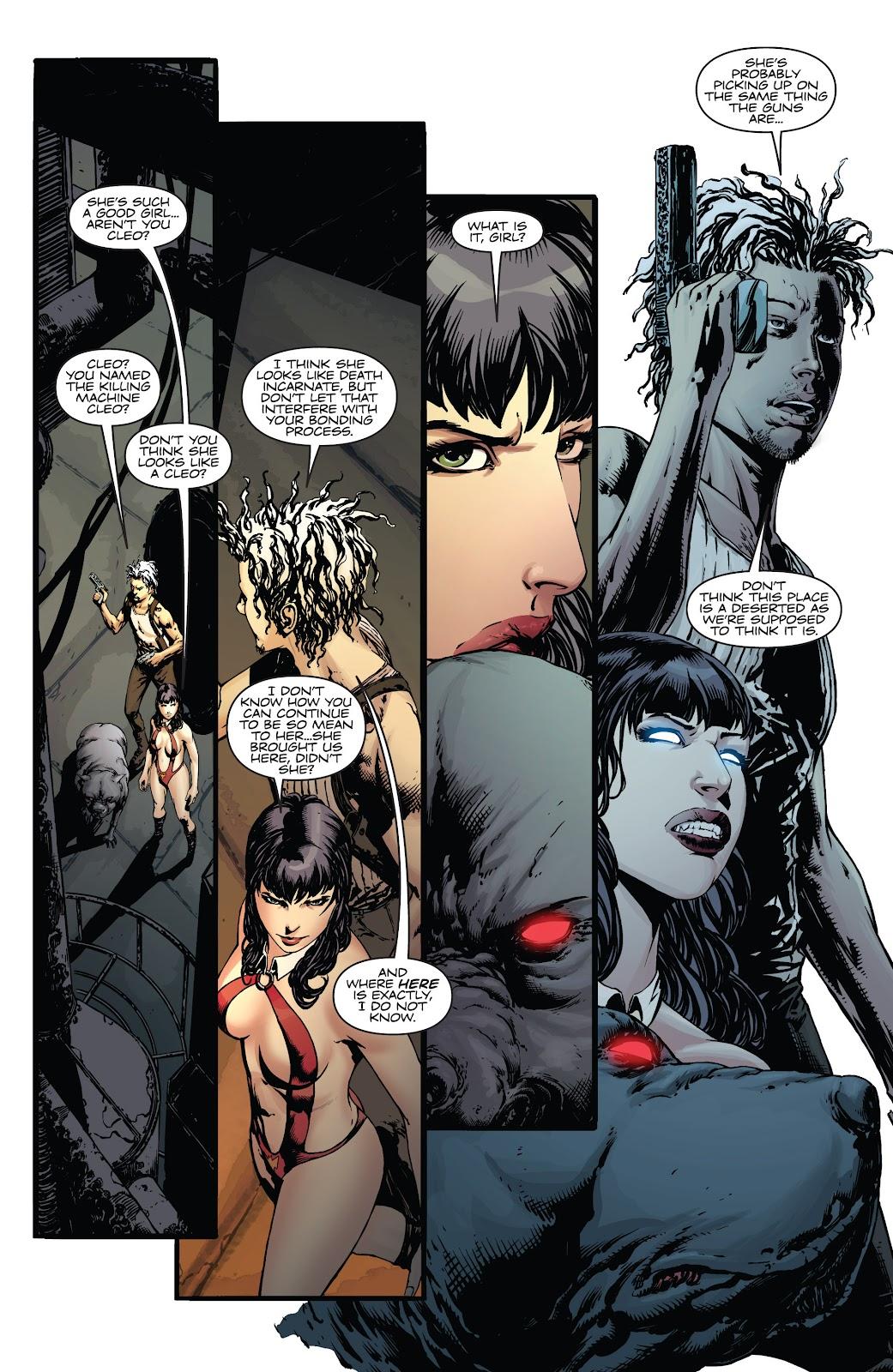 Read online Vampirella Strikes comic -  Issue #5 - 24