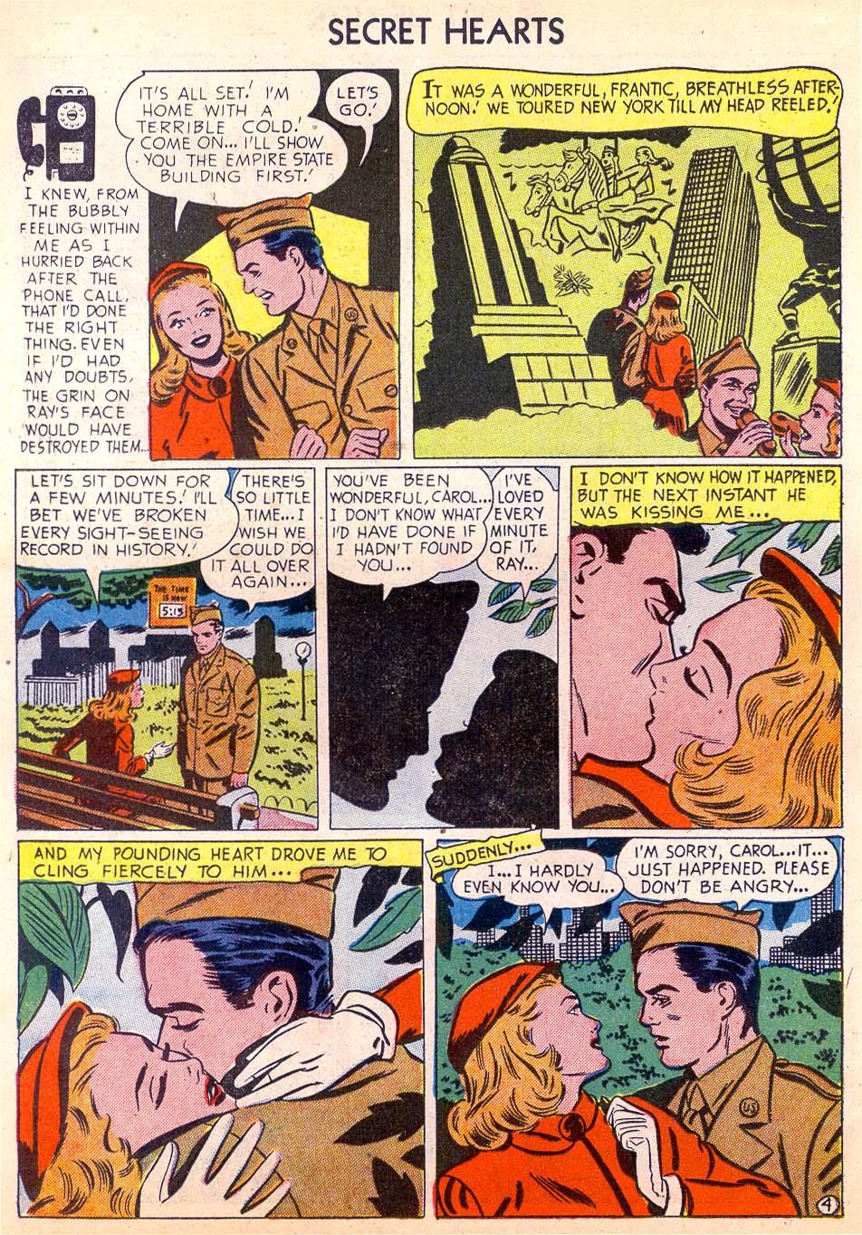 Read online Secret Hearts comic -  Issue #11 - 22