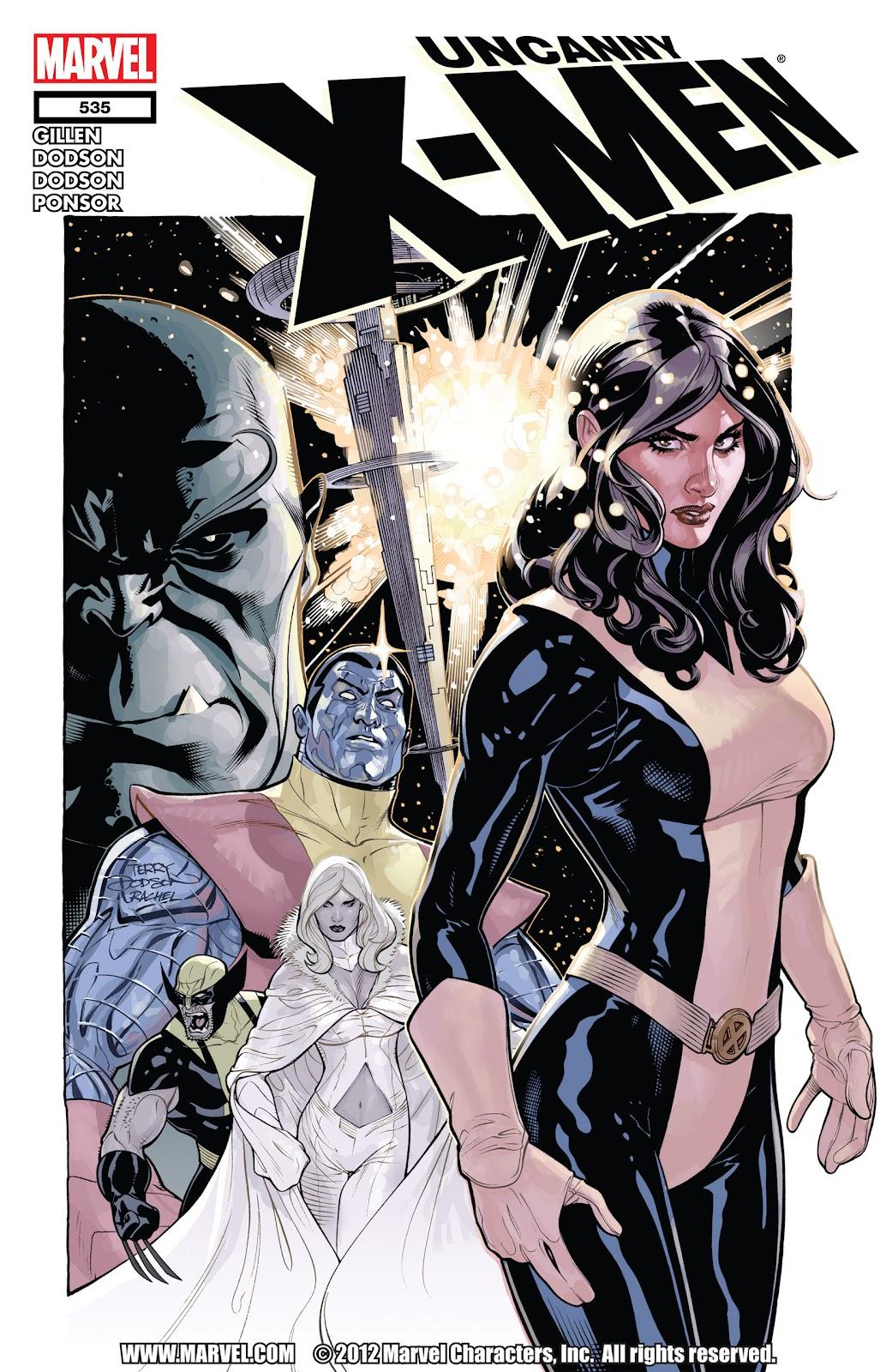 Uncanny X-Men (1963) issue 535 - Page 1