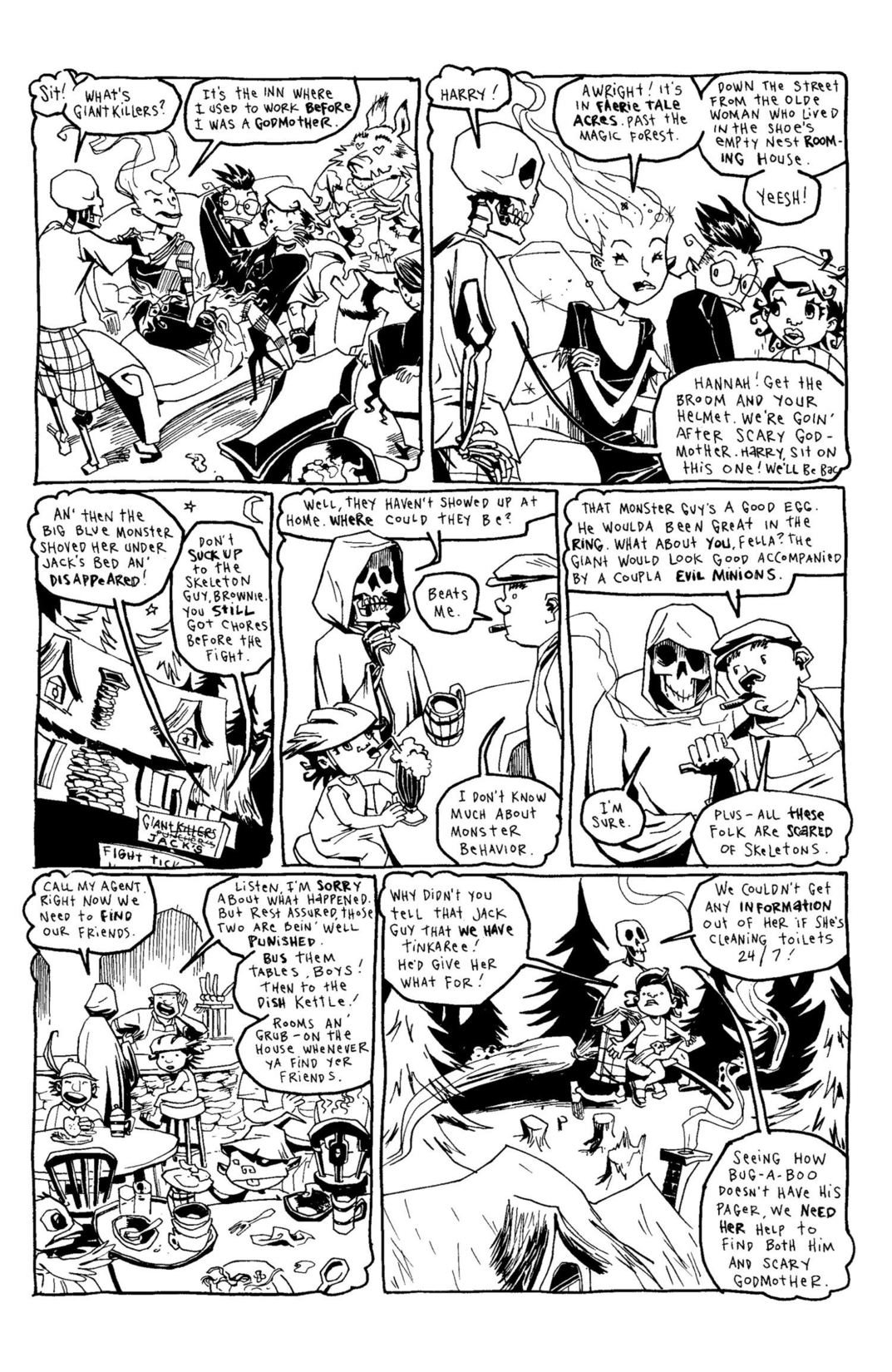 Read online Scary Godmother Comic Book Stories comic -  Issue # TPB - 251