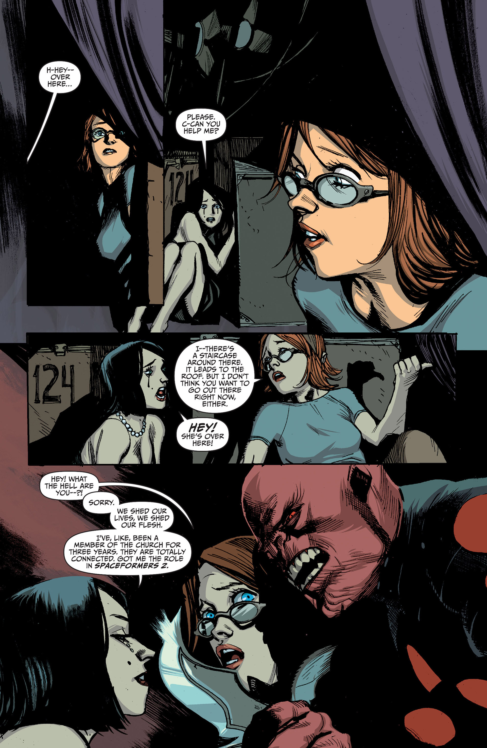 Read online Animal Man (2011) comic -  Issue #25 - 10