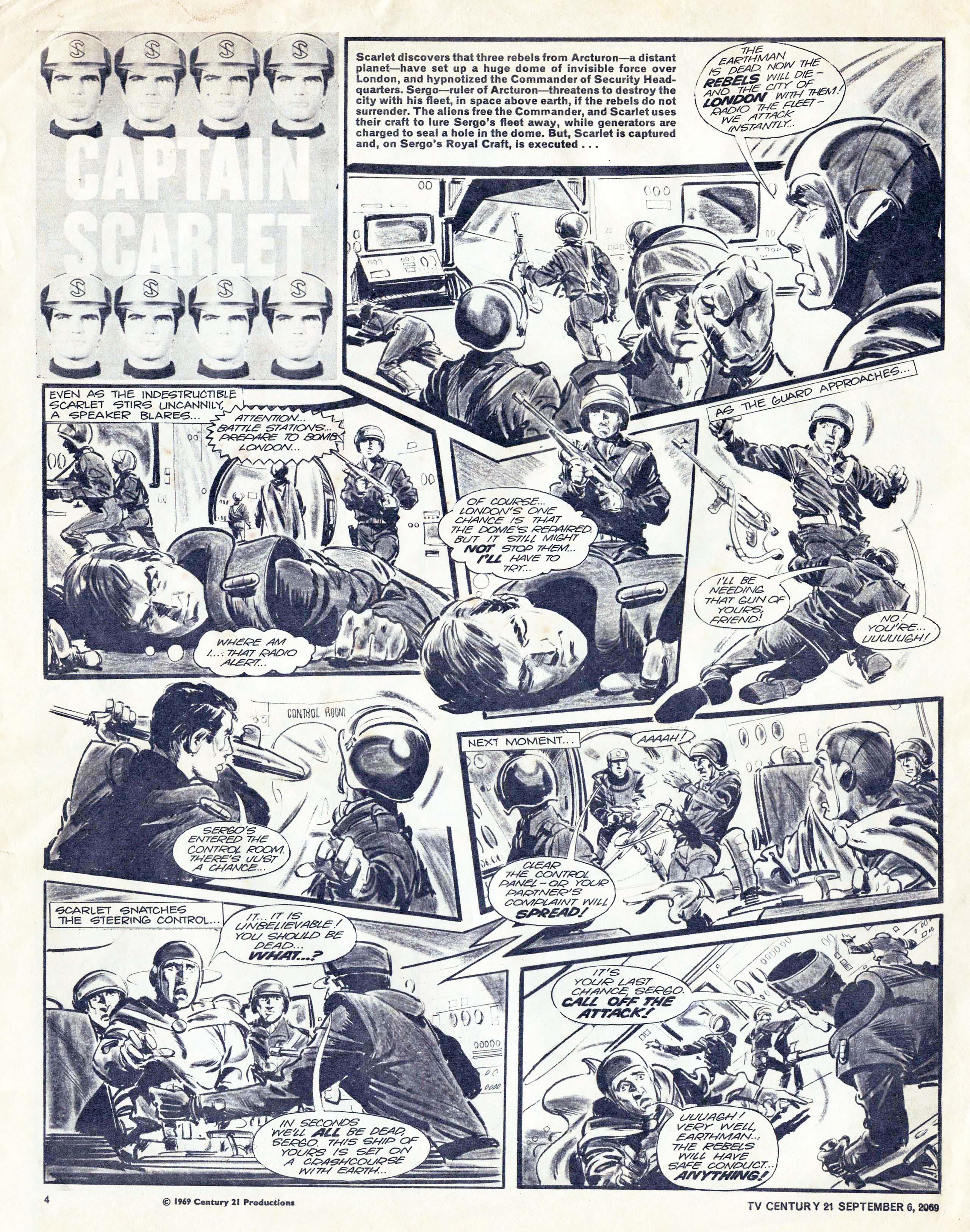 Read online TV Century 21 (TV 21) comic -  Issue #242 - 4