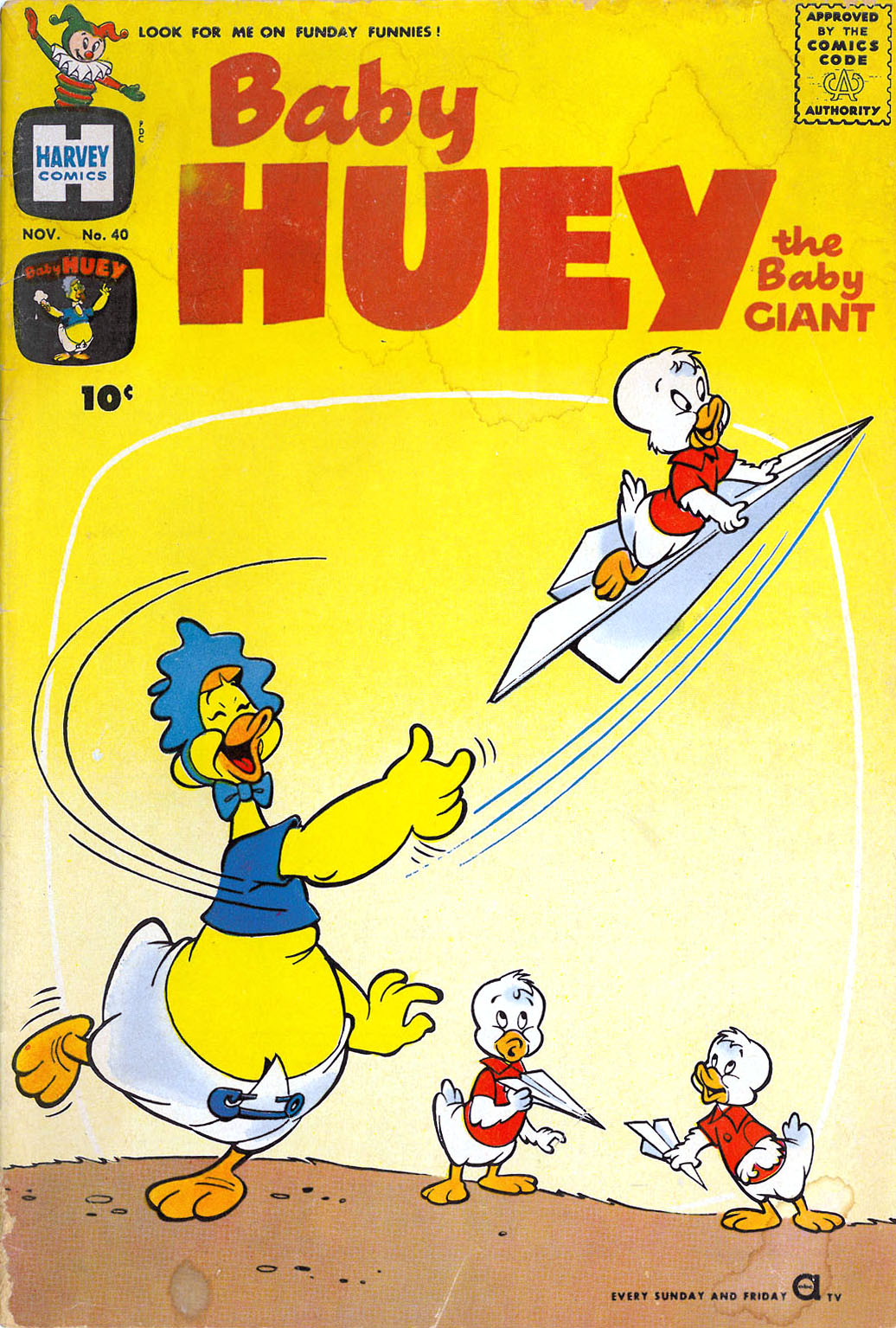 Baby Huey, the Baby Giant issue 40 - Page 1