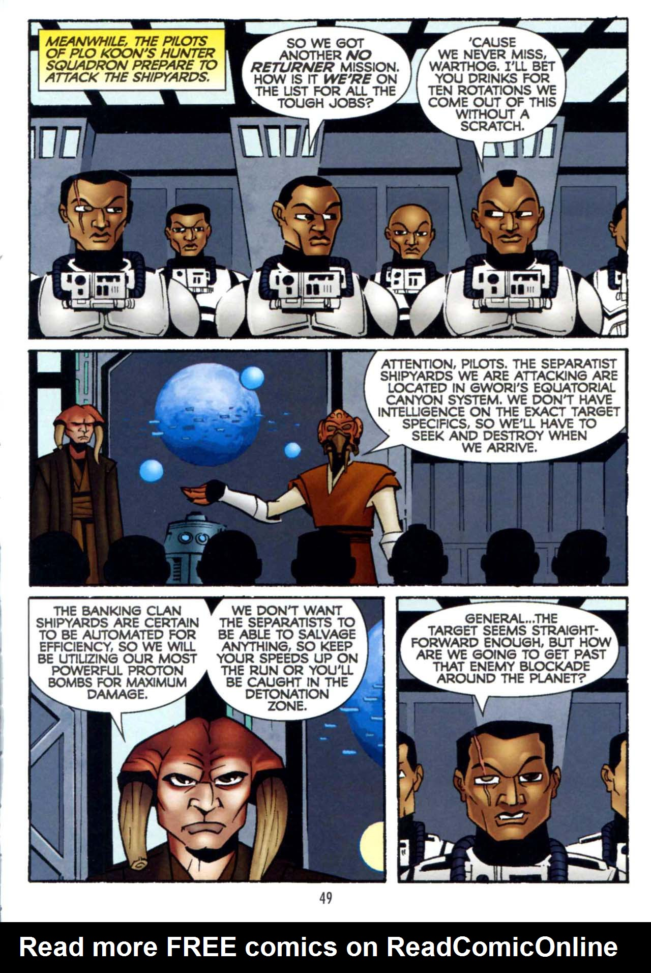 Read online Star Wars: The Clone Wars - Shipyards of Doom comic -  Issue # Full - 47