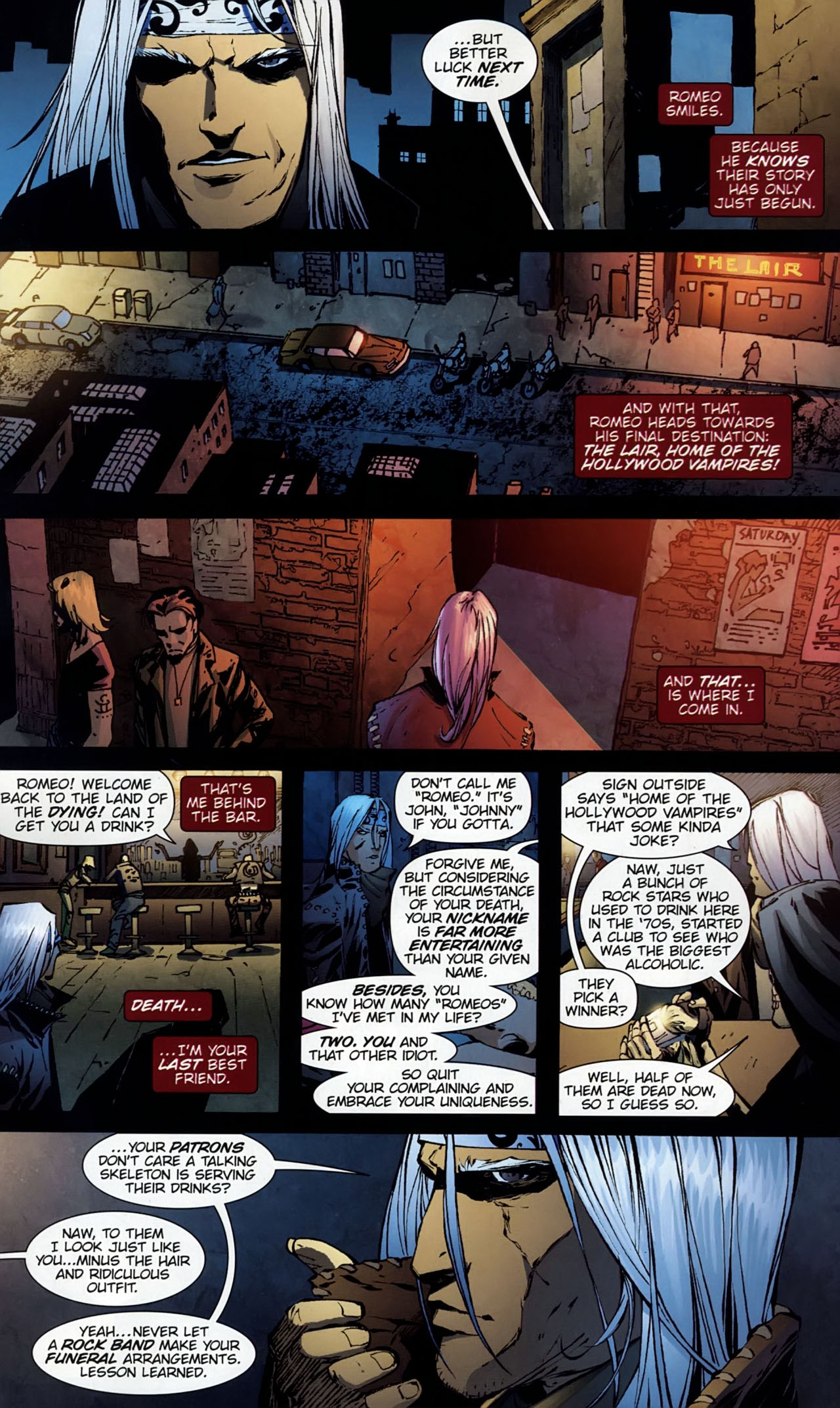 Read online Dead Romeo comic -  Issue #1 - 12